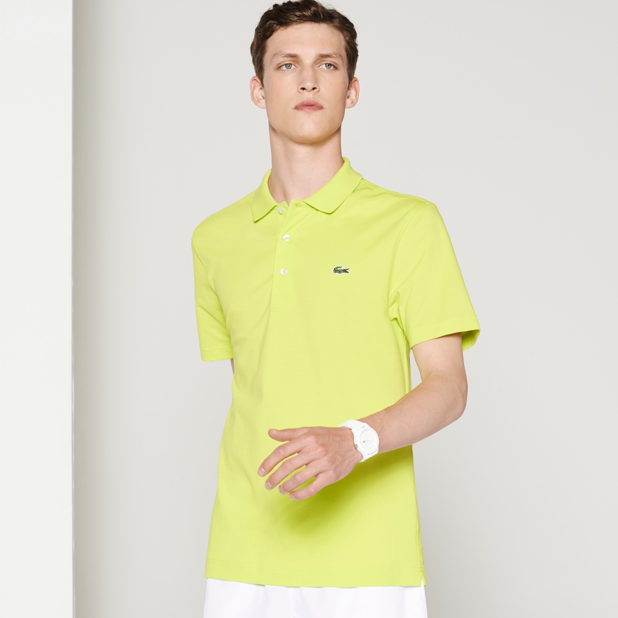 Men's Lacoste SPORT Tennis regular fit polo in ultra-lightweight knit