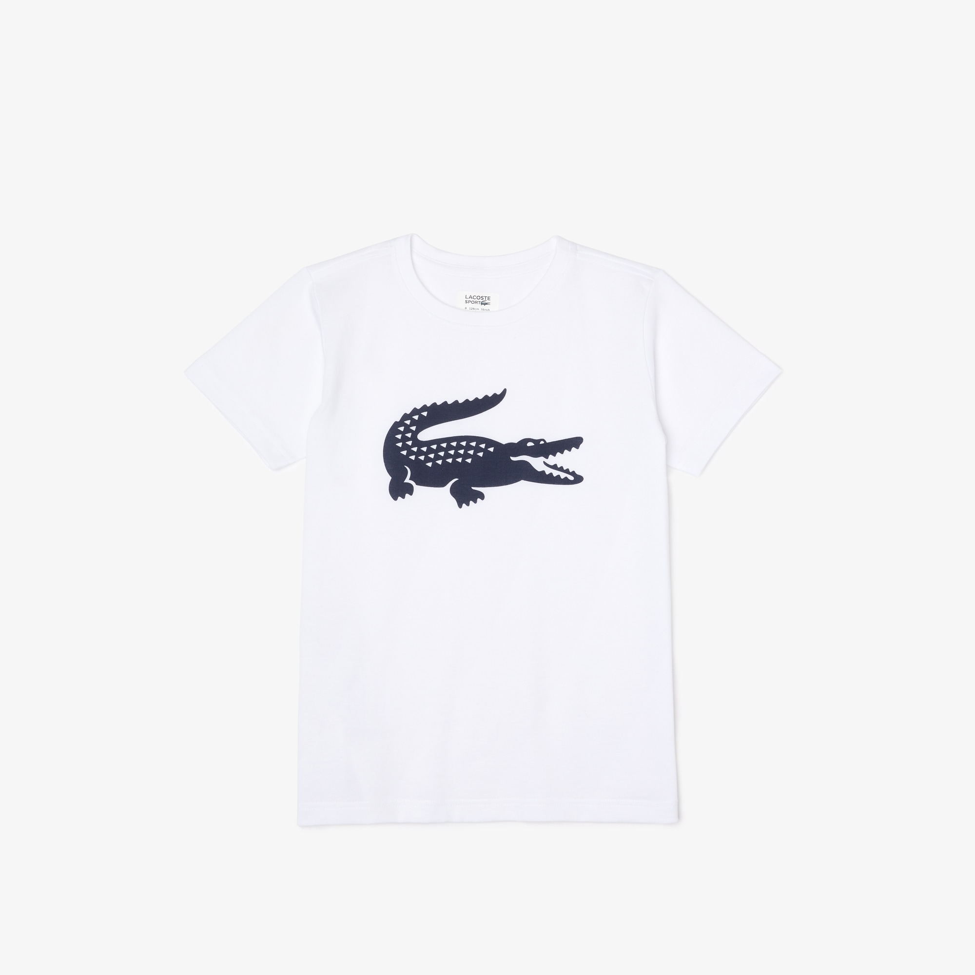 Camiseta de niño de tejido de punto técnico con gran cocodrilo Lacoste SPORT Tennis