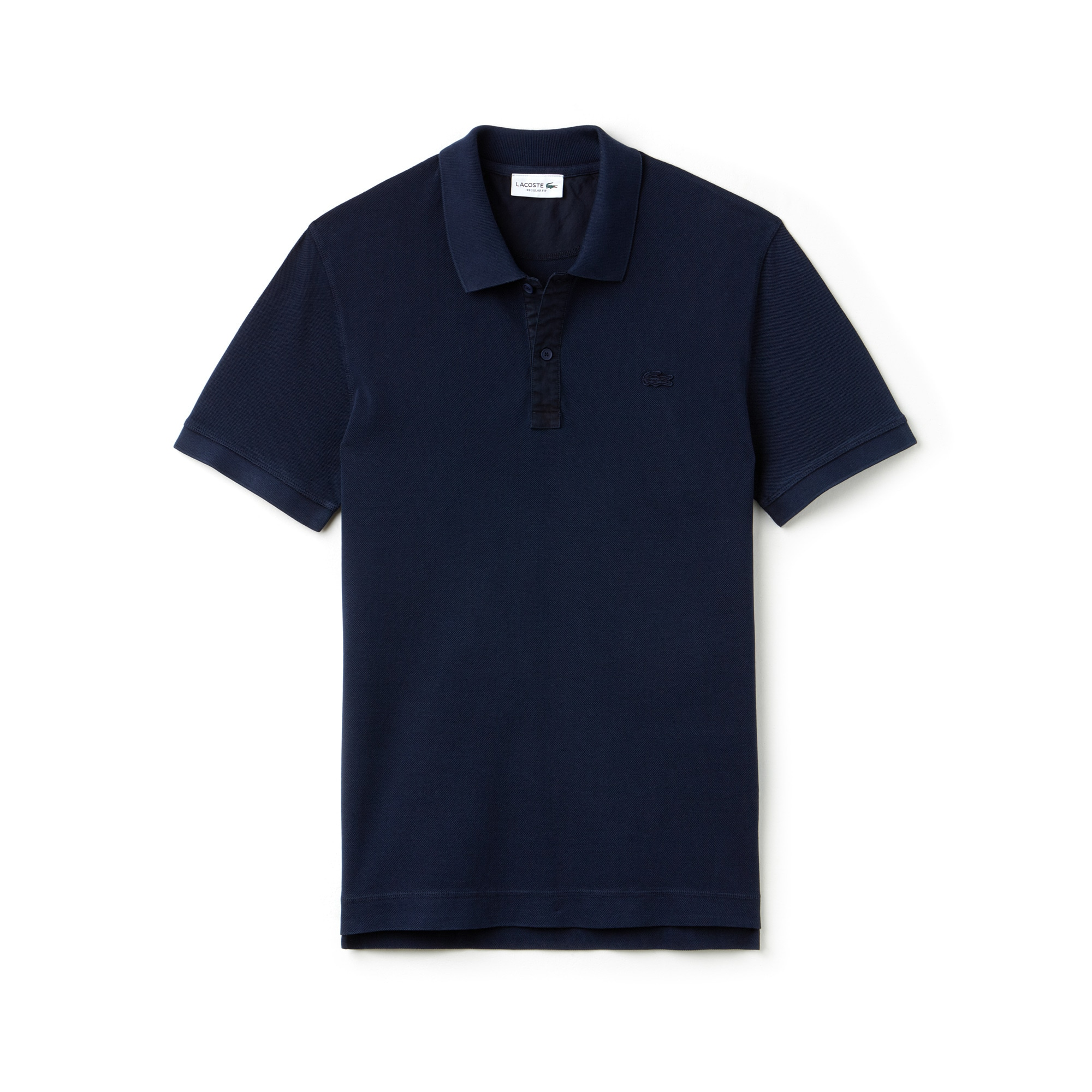 Men's Lacoste Regular Fit Square Knit Polo
