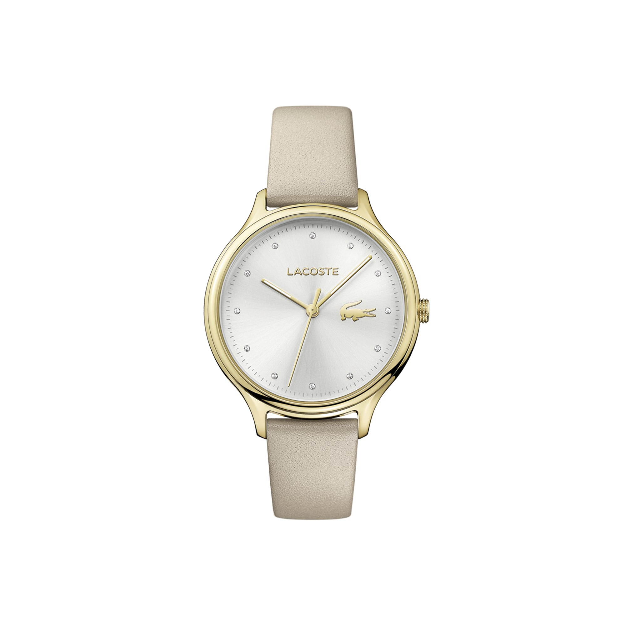 Women's Constance Watch with Beige Leather Strap