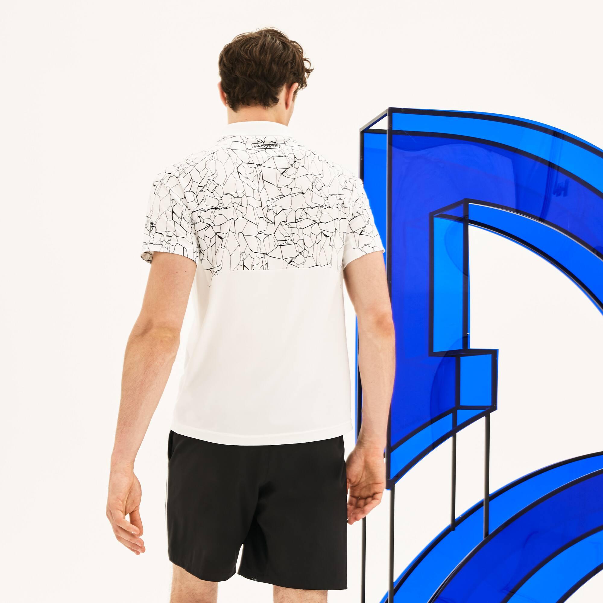 Polo De Hombre Lacoste SPORT Novak Djokovic-On Court Collection En ... 3406c89cbf