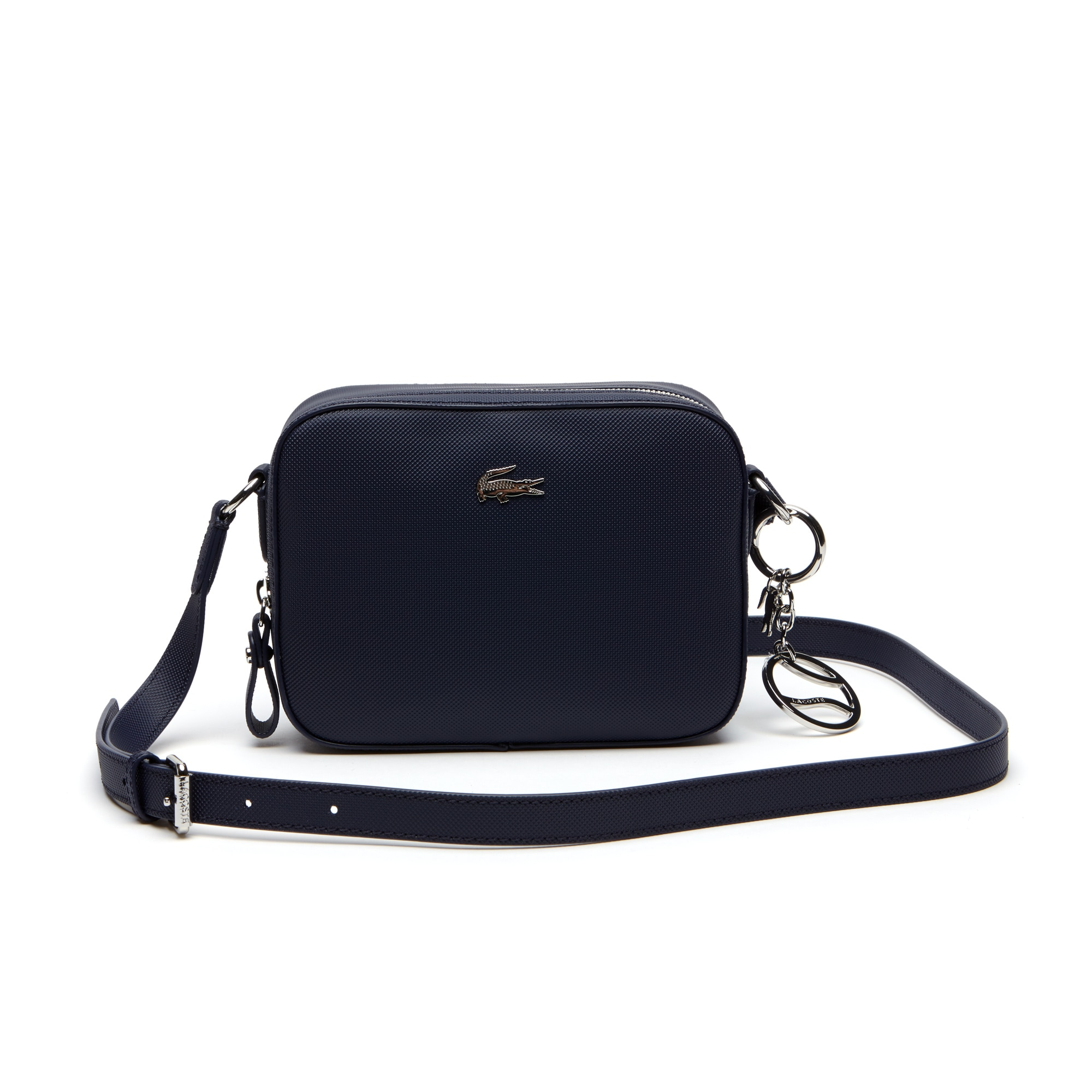 Women's Daily Classic Coated Piqué Canvas Square Crossover Bag