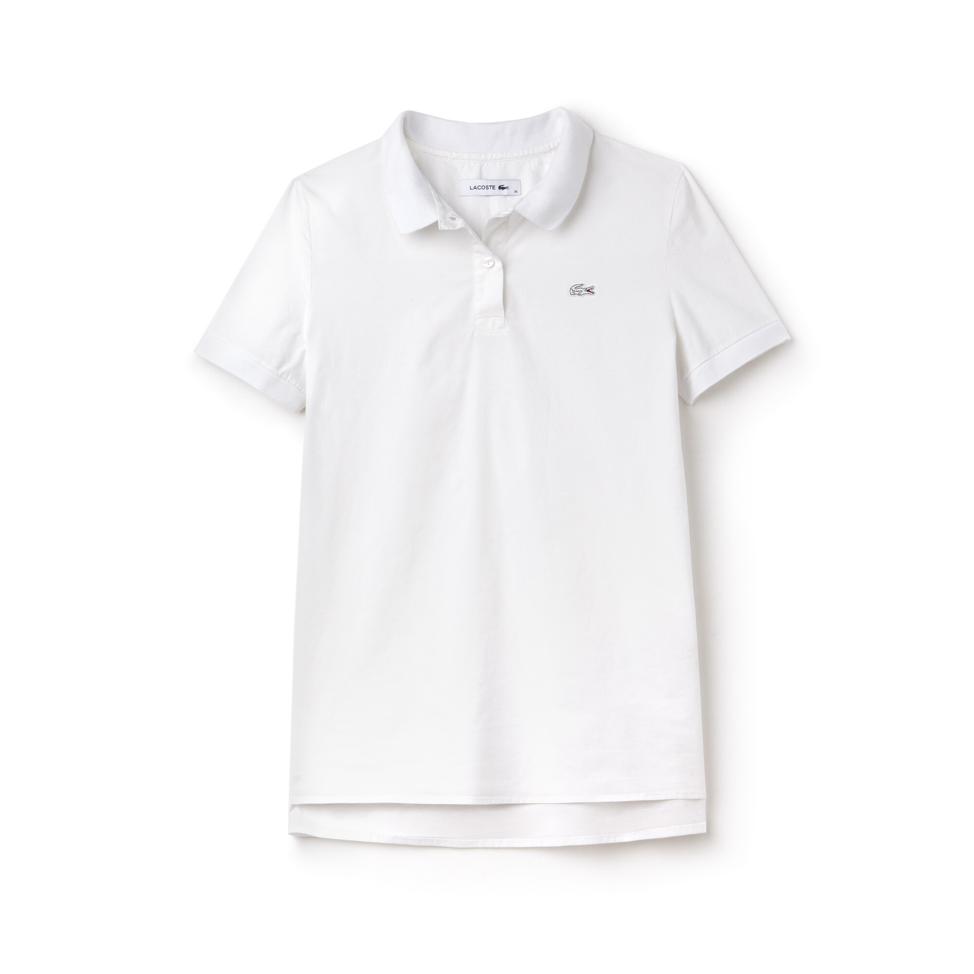 Lacoste Mangas Larga Y Para Polos Manga Sin Mujer 40Zx64qwz