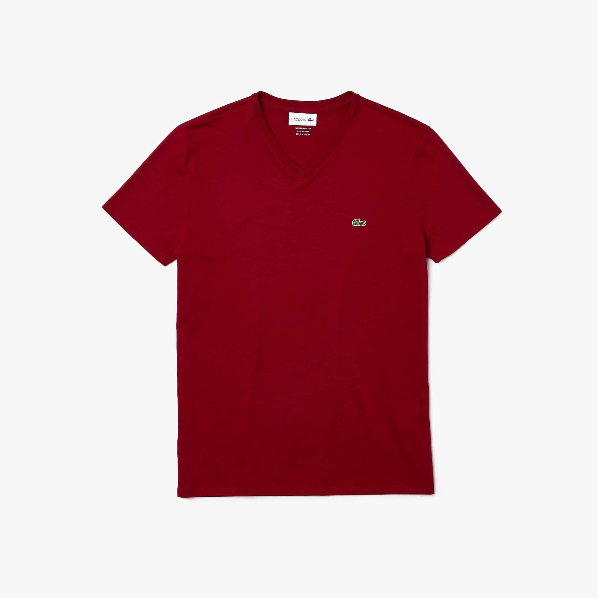 Camiseta Cuello Pico Algodón Pima