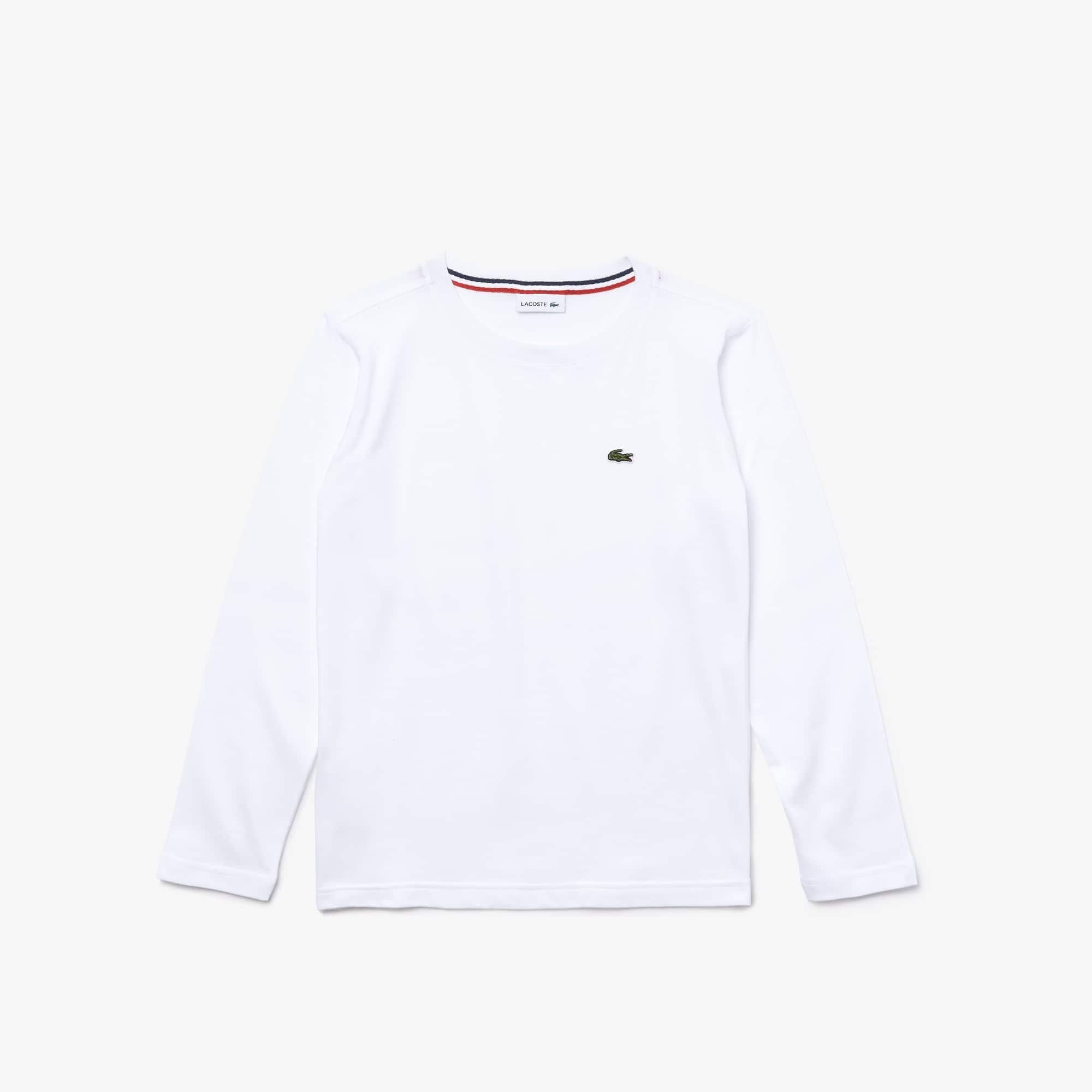 Camiseta De Niño En Tejido De Punto Con Cuello Redondo