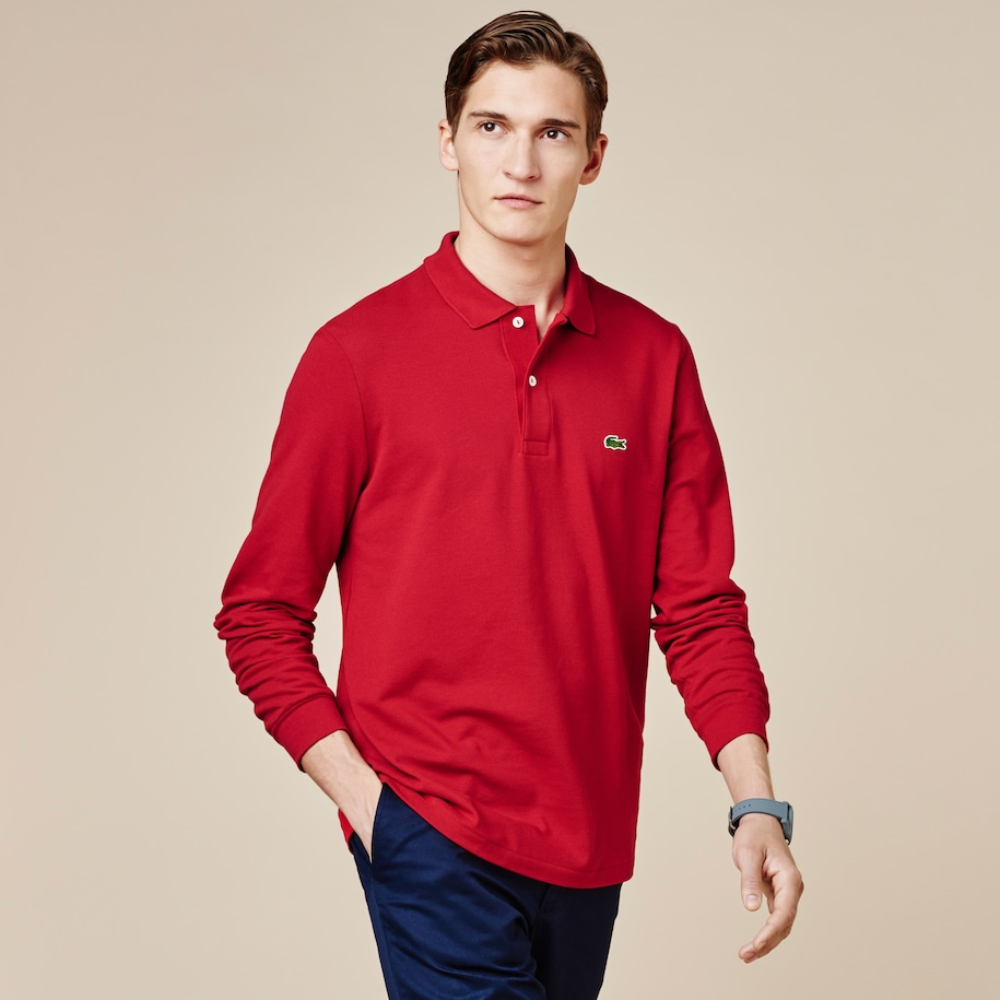 Polo Lacoste Classic Fit Manga Larga