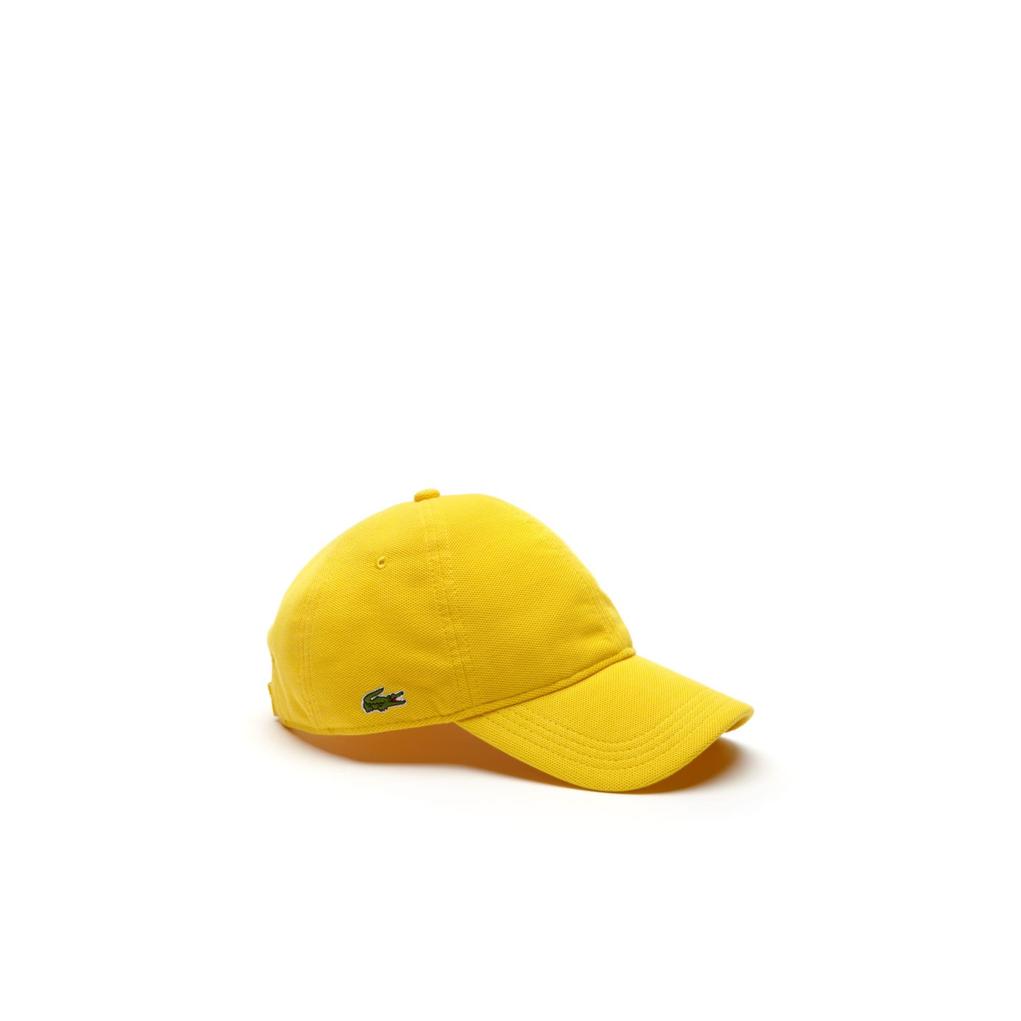 Gorra De Piqué En Algodón