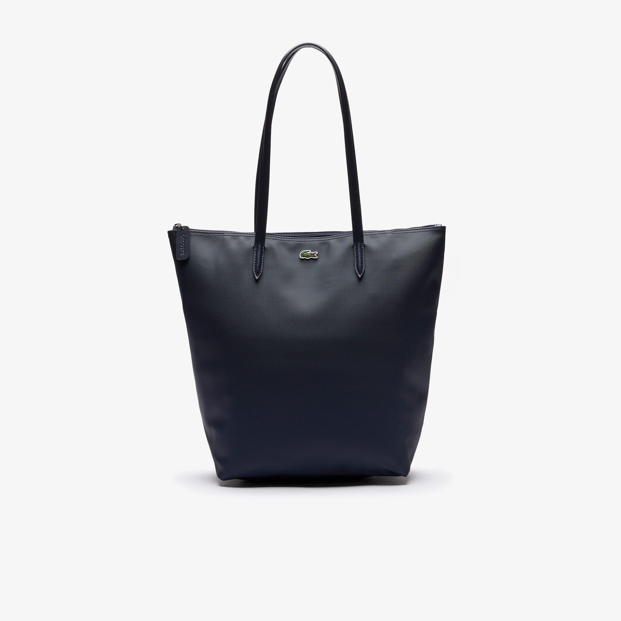 Bolso de mano de mujer vertical con cremallera de la colección L.12.12 Concept