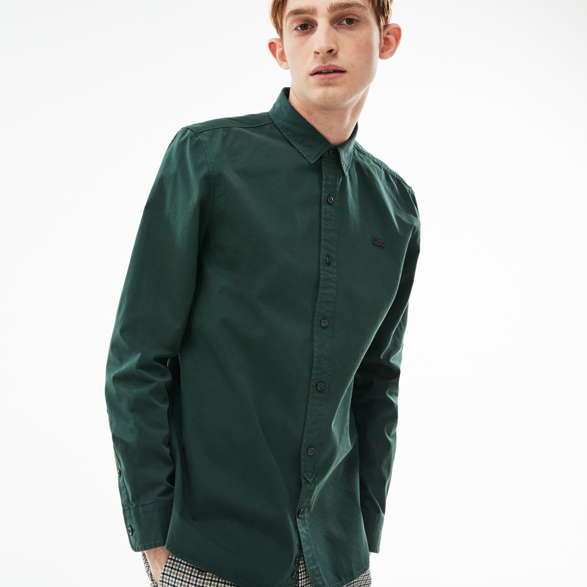 Camisa Lacoste LIVE skinny fit en popelín de algodón. + 2 colores b17afde8b7