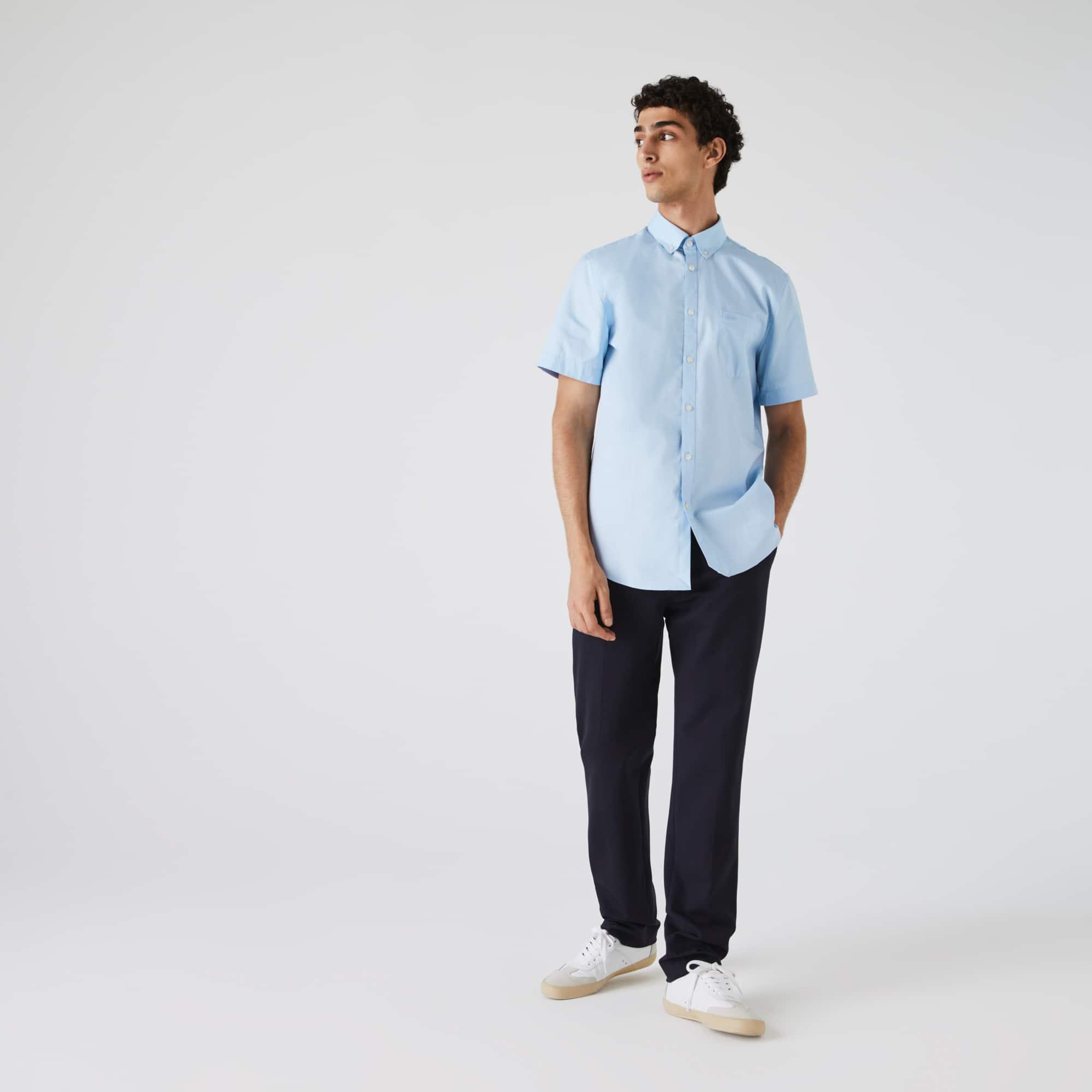 5a95492b0 Camisa De Hombre Regular Fit En Mini Piqué · + 4 colores