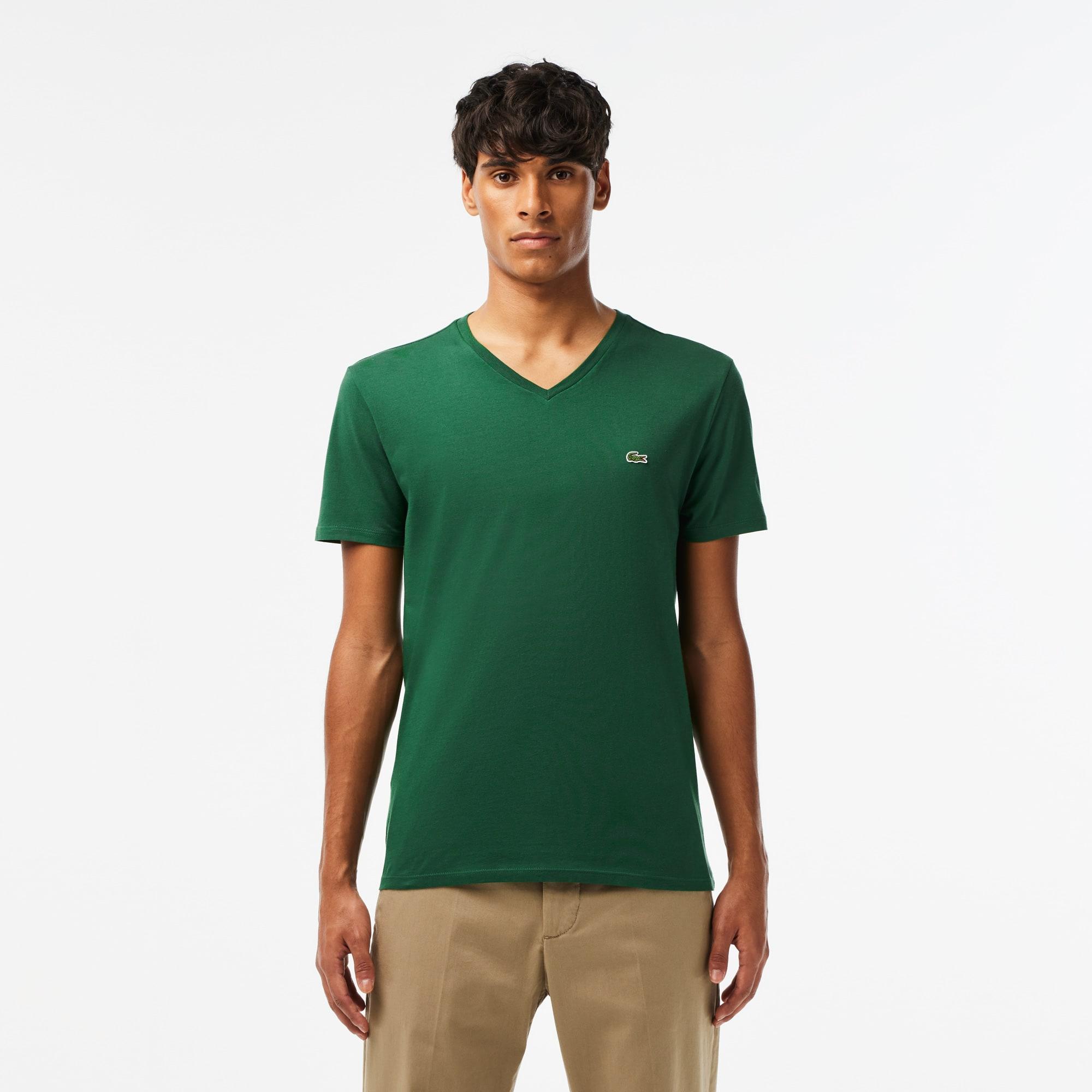Pico Cuello Cuello Camiseta Camiseta Pico Algodón Algodón Camiseta Cuello PimaLacoste PimaLacoste j4LqR5A3