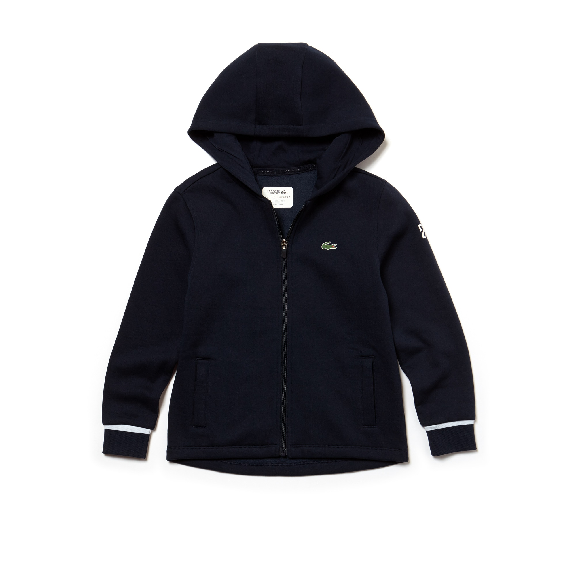 Sudadera Con Capucha Niño Lacoste Sport Collection Novak Djokovic Support With Style De Felpa