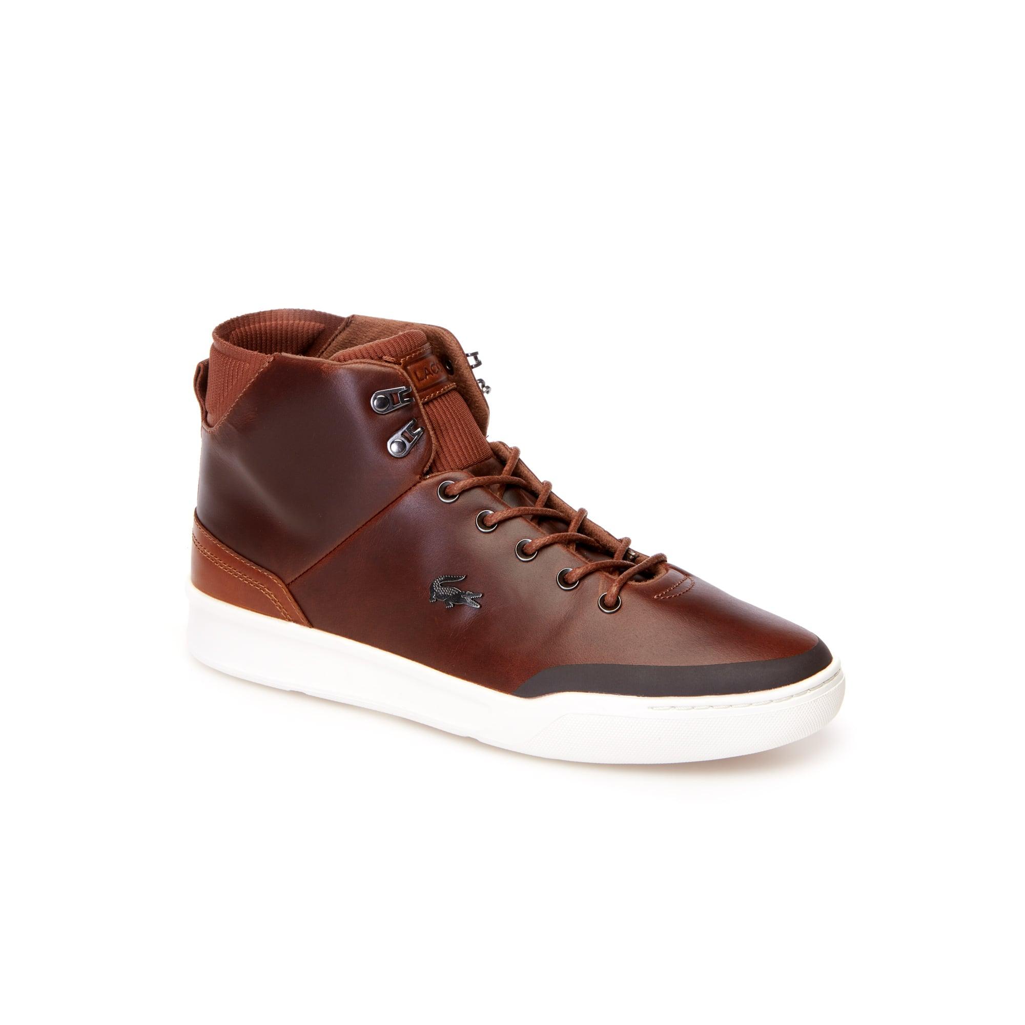 Zapatillas bota de hombre Explorateur Classic de piel