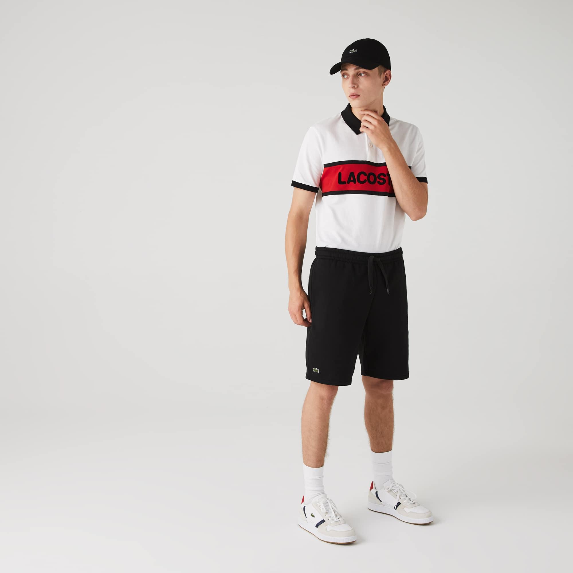 Pantalón Corto De Hombre Lacoste SPORT Tennis En Felpa
