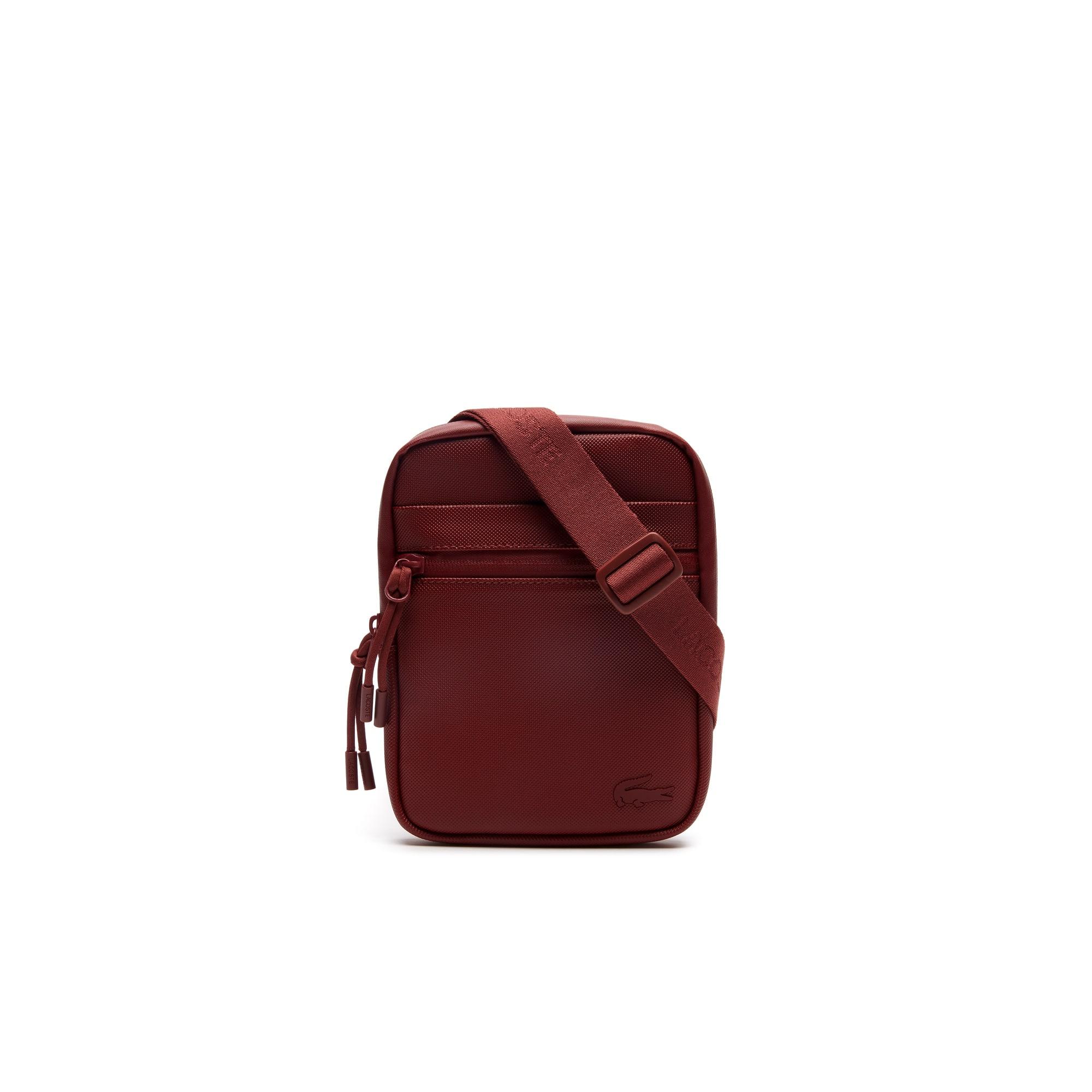 Men's L.12.12 Concept Petit Piqué Small Flat Zip Bag