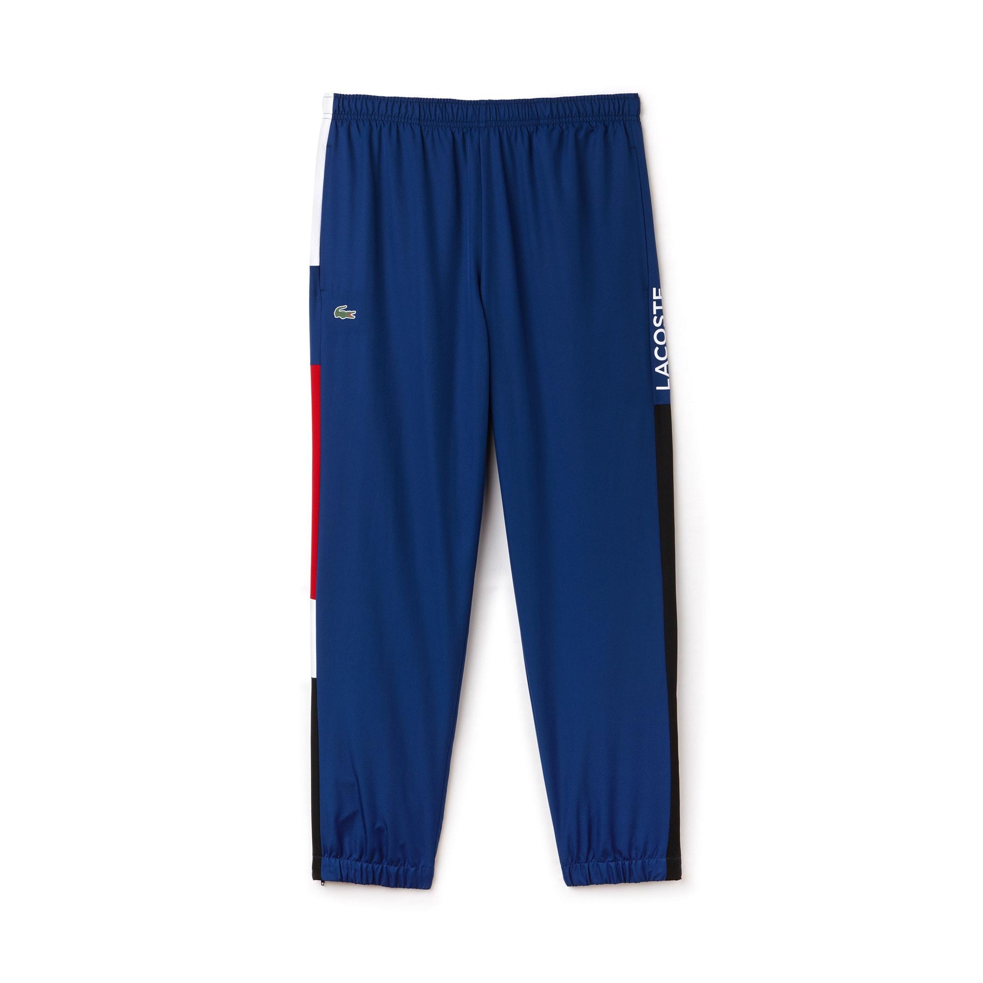 Pantalón de chándal Tenis Lacoste SPORT con franja color block