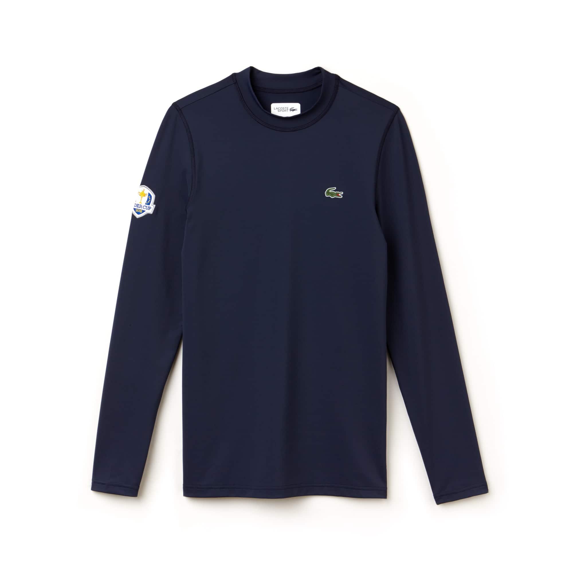Camiseta Golf Lacoste Sport De Manga Larga De Punto Liso Edición Ryder Cup