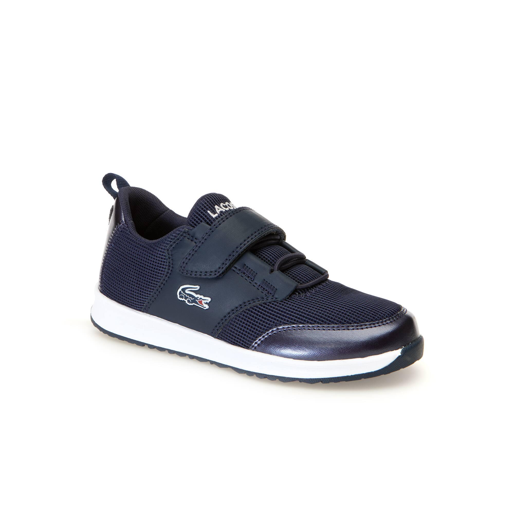 168d87d4d Zapatillas de niño L.ight de material textil y sintético con efecto metálico