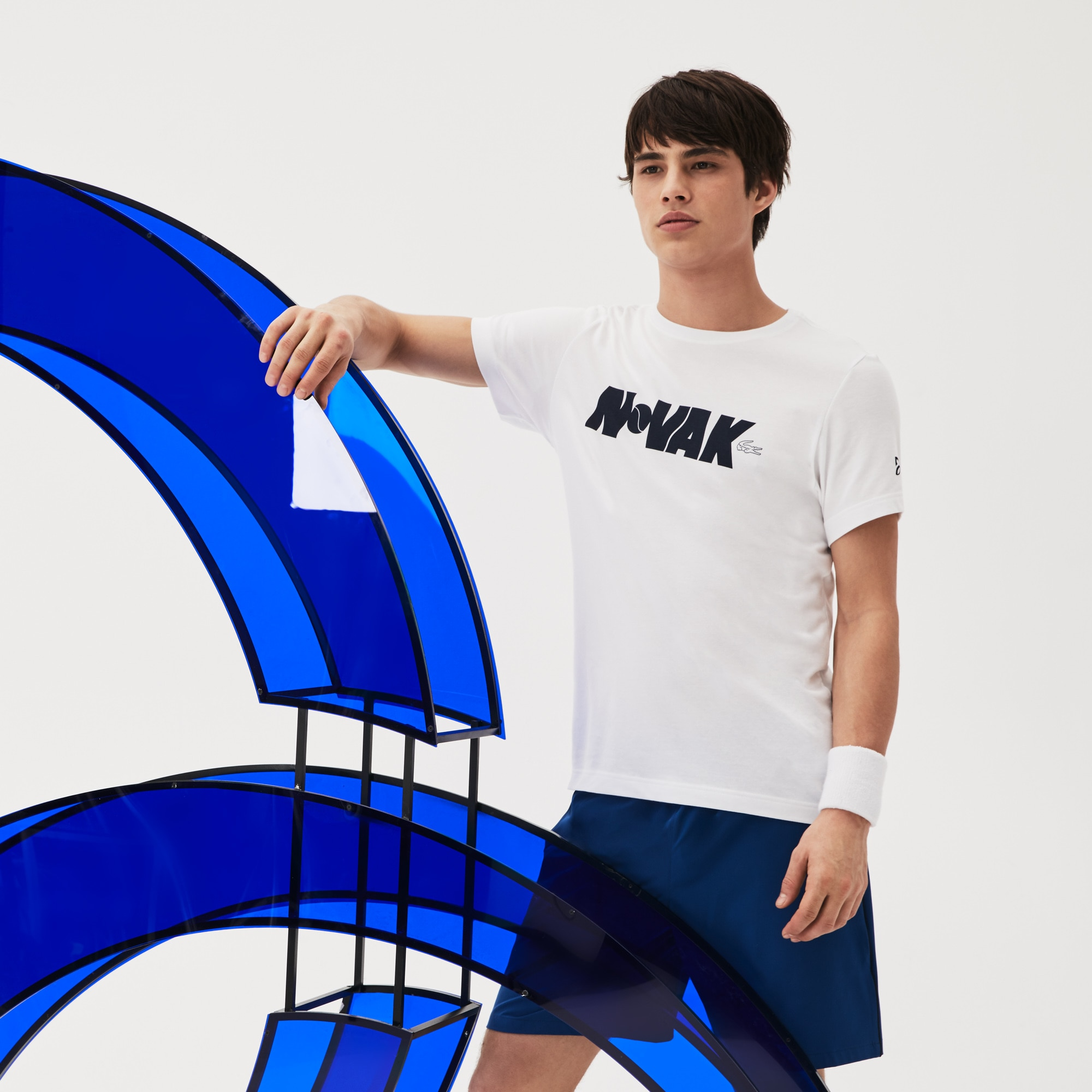 Camiseta Lacoste Sport Collection Novak Djokovic Support With Style