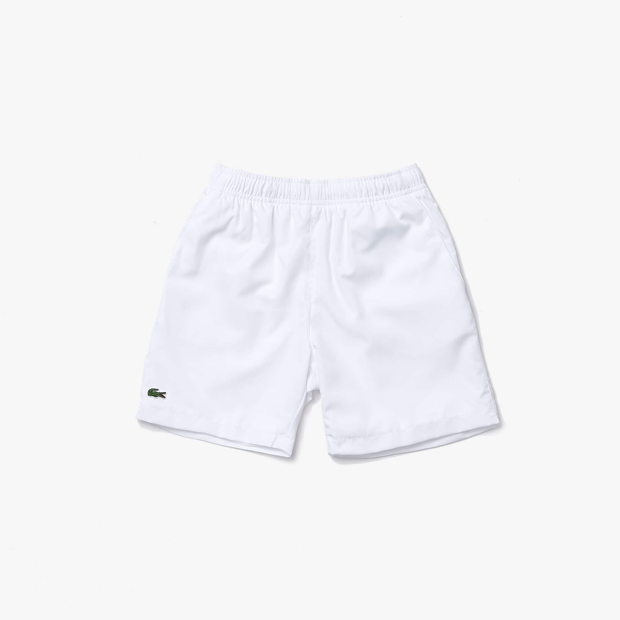 Pantalones cortos de tenis Lacoste SPORT de sólido tafetán con tejido de rombos