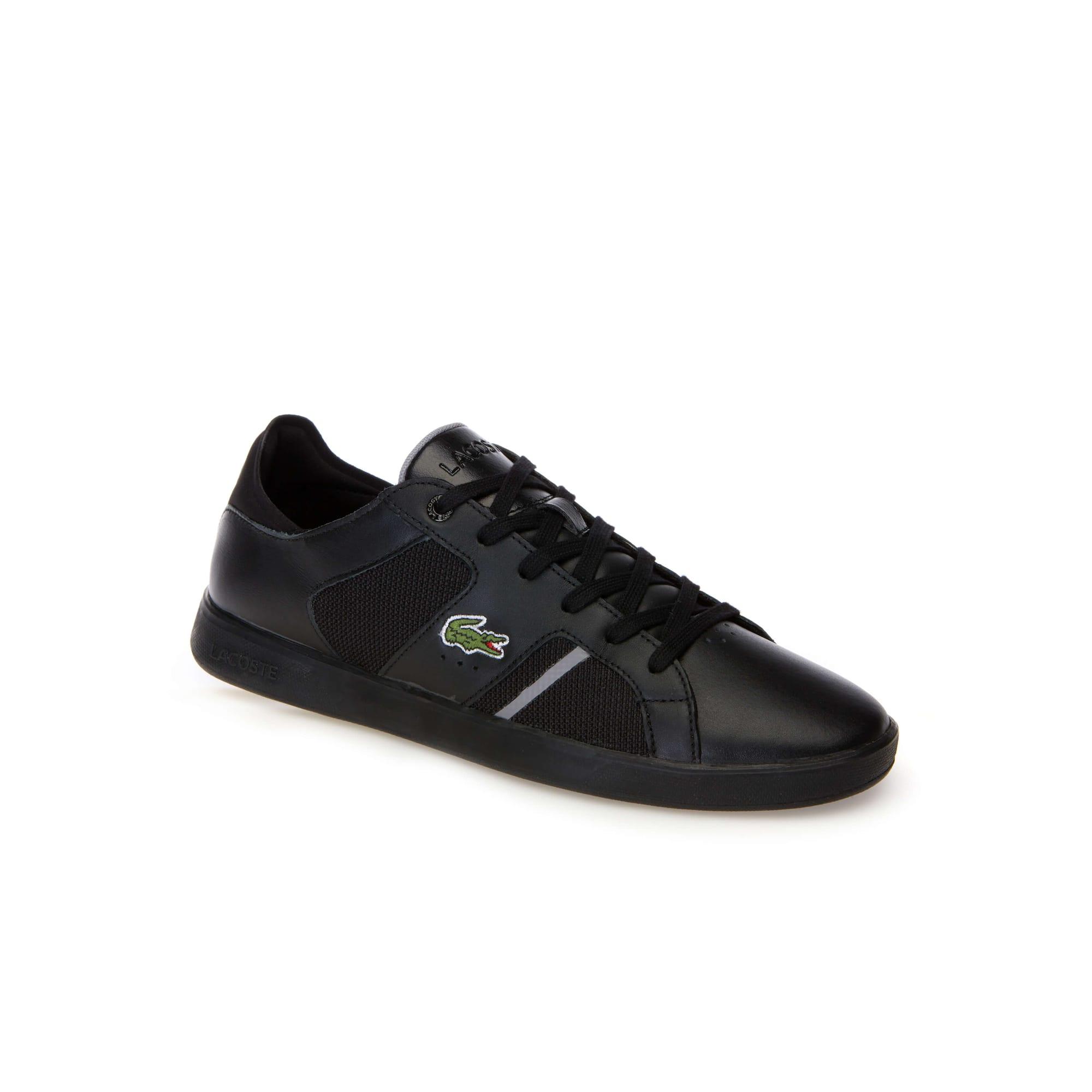 91a5a4c18fa Zapatillas de hombre Novas de napa y malla