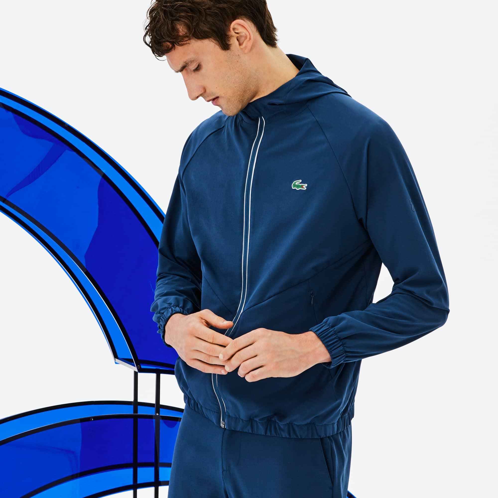 Off Novak Hombre Chaqueta Lacoste Premium Court De Sport Djokovic pYwS6FxSq