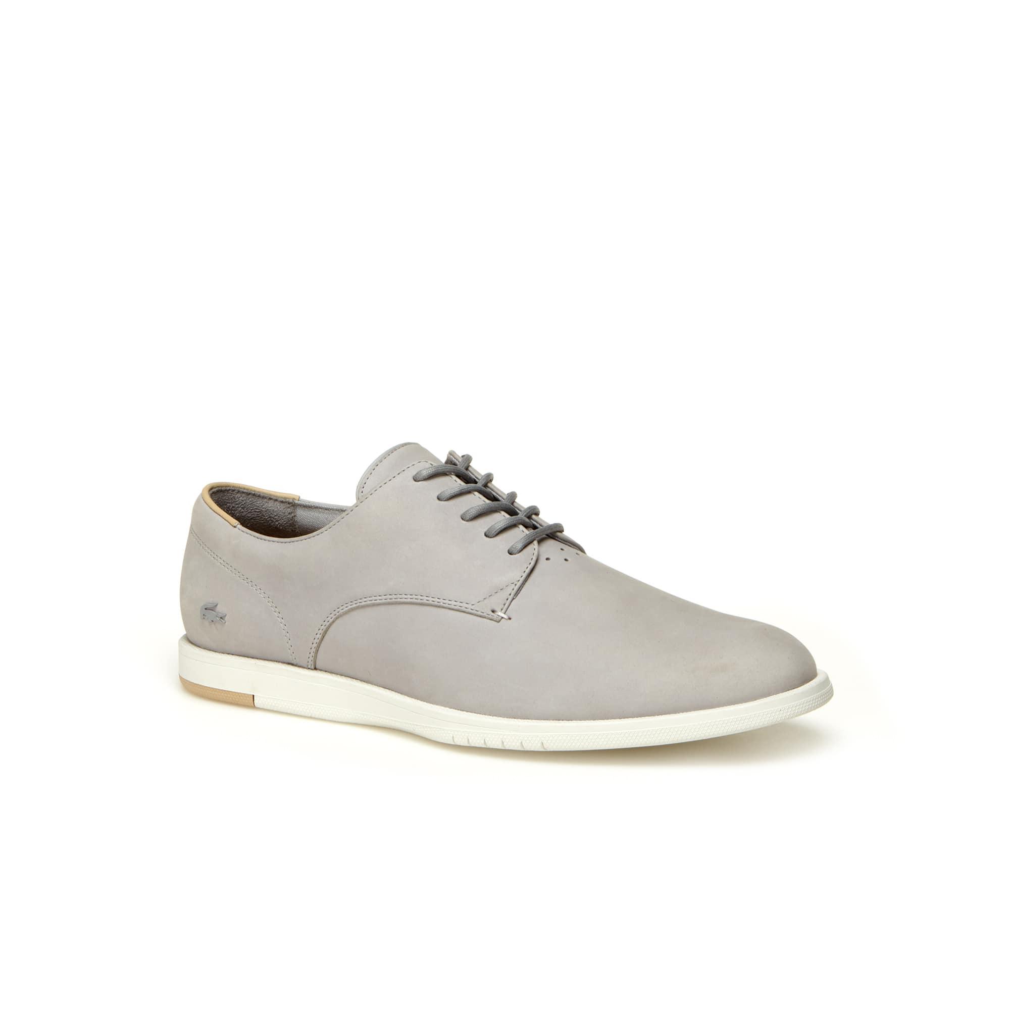 Zapatos derby Laccord de cuero para hombre