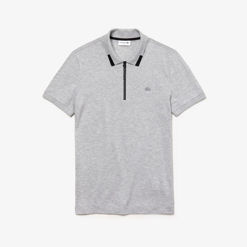 071453b5a8ec8 Polo de hombre Lacoste Motion slim fit en piqué de algodón con cuello de  cremallera