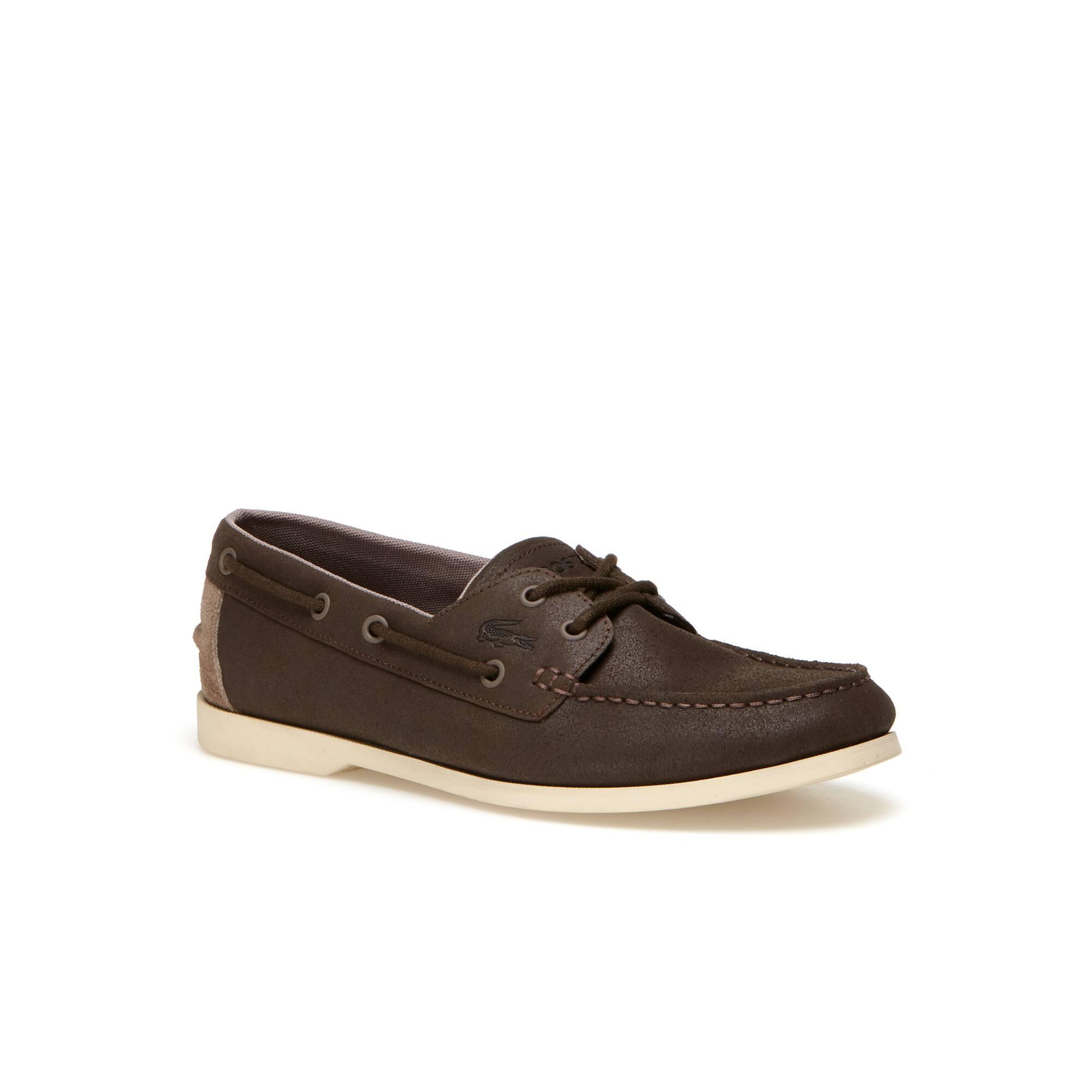 Men's Navire Casual Suedette Boat Shoes