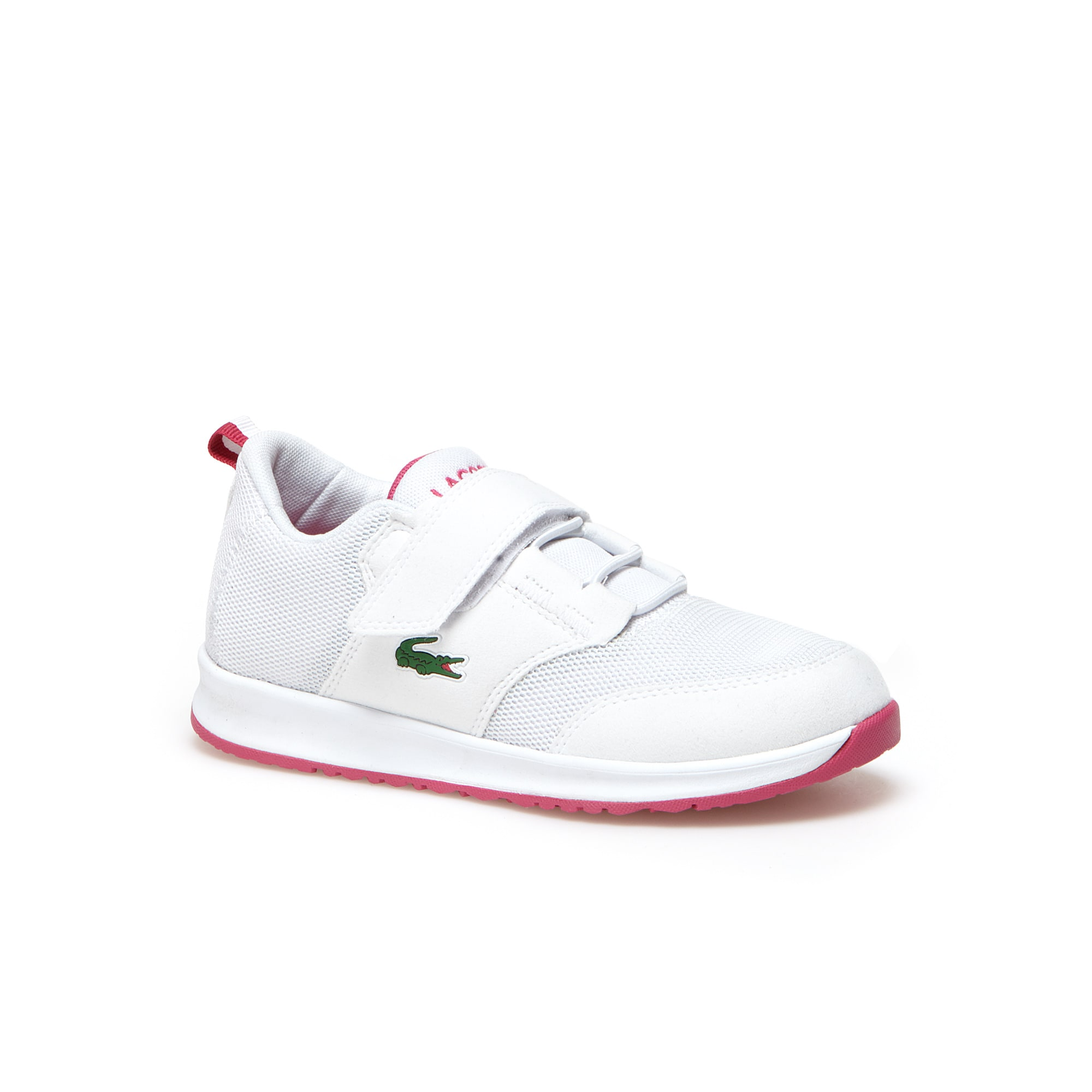 Kids' L.IGHT Breathable Canvas Hook and loop Strap Trainers