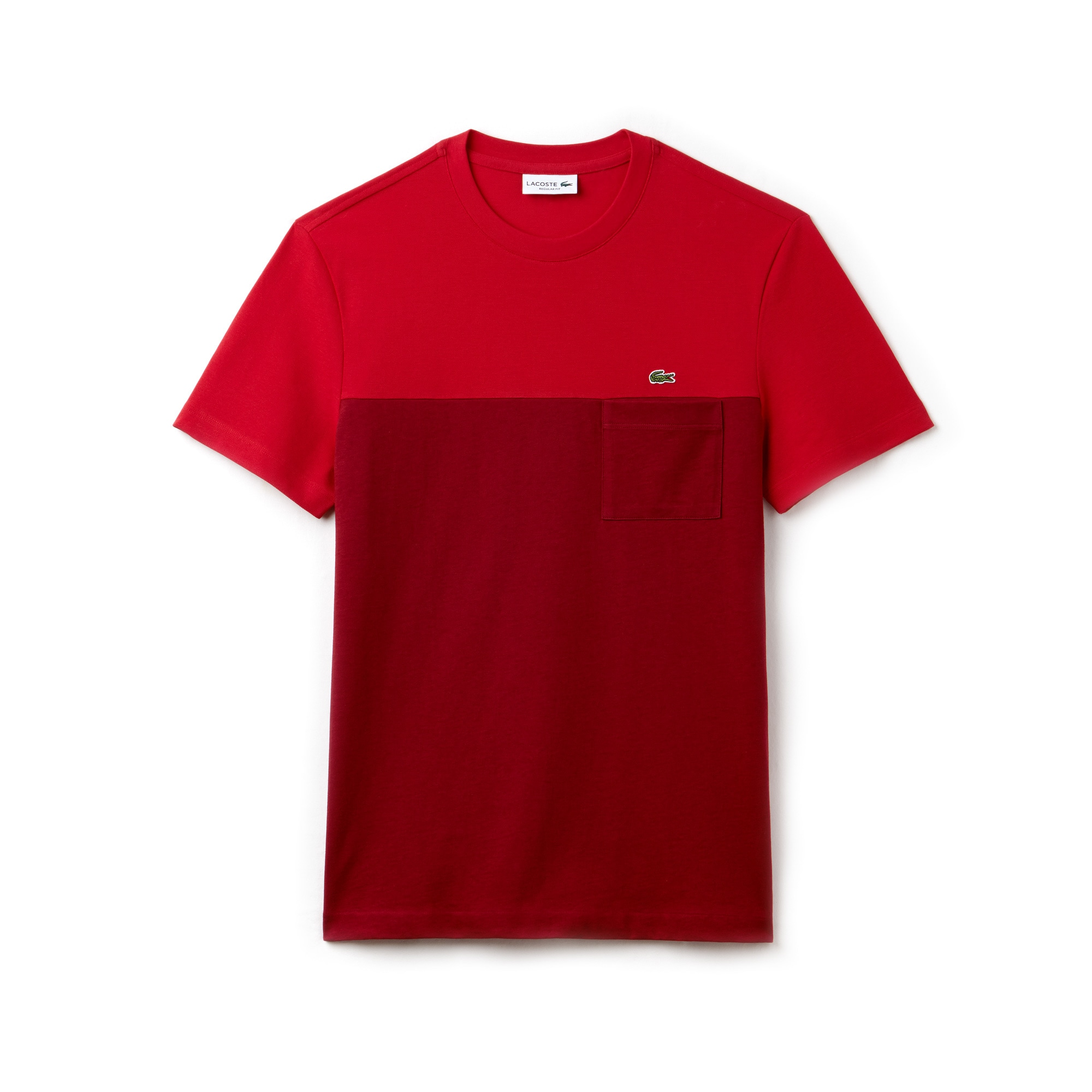Camiseta Hombre Color Block