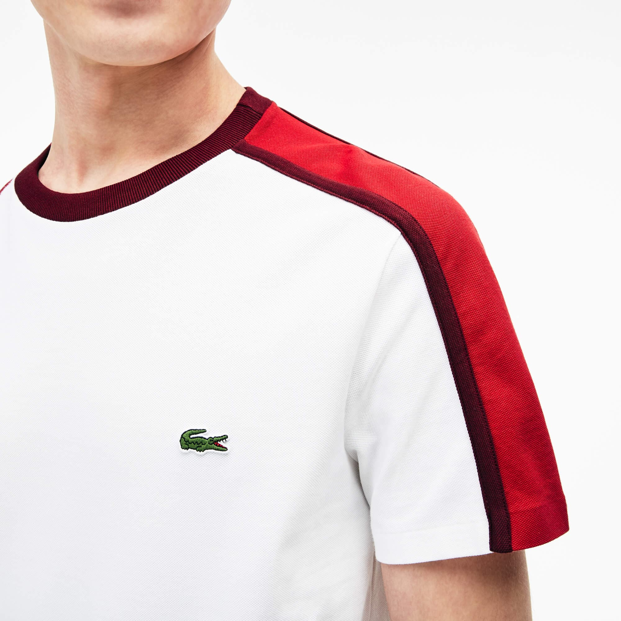 Camiseta Hombre Color Block Made In France