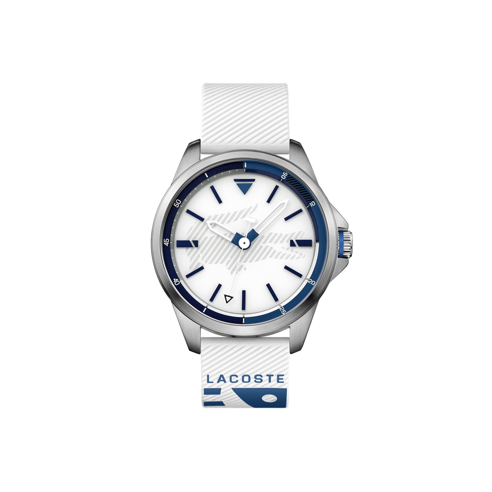 Reloj Capbreton Con Pulsera De Silicona Blanca