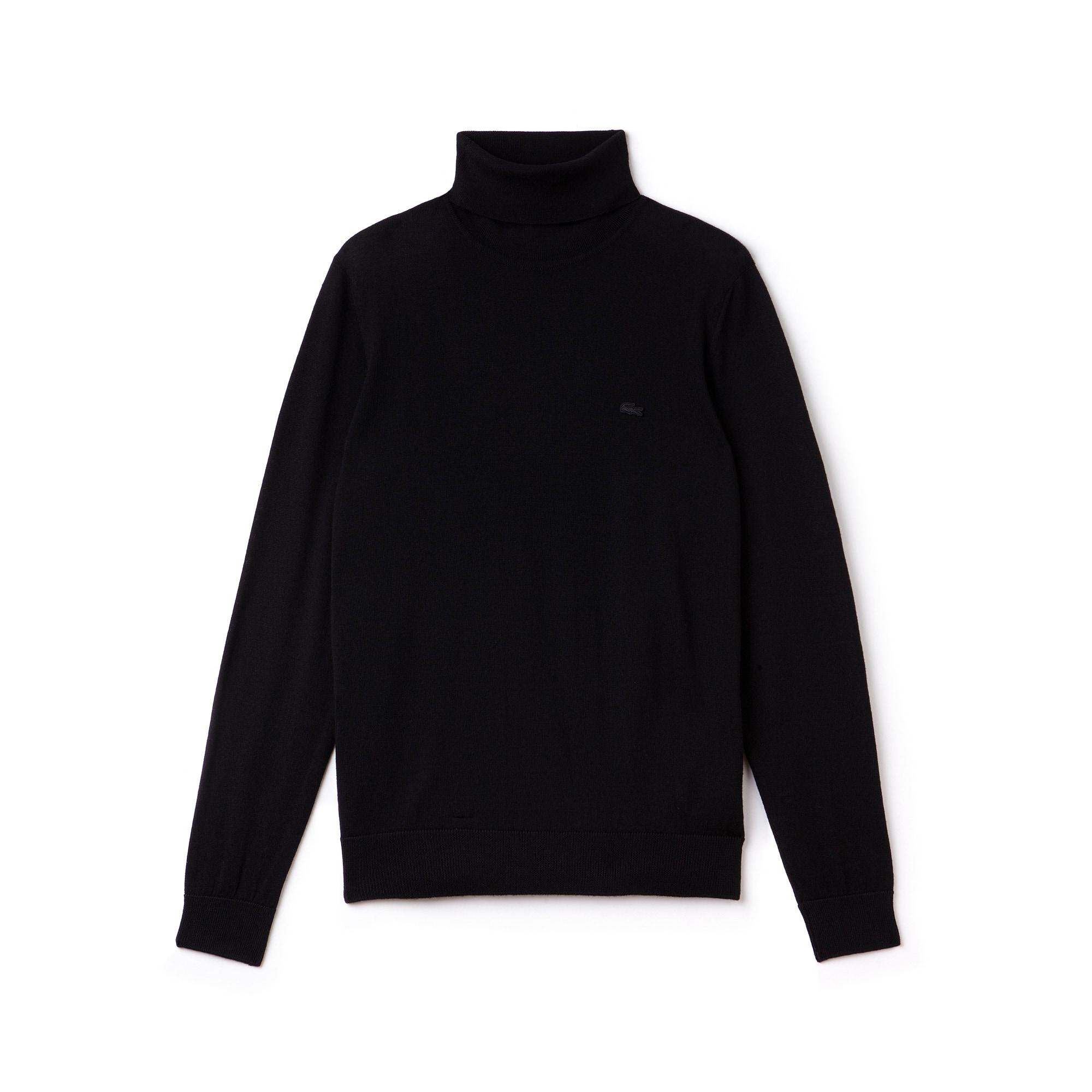 Jersey de cuello vuelto de punto jersey