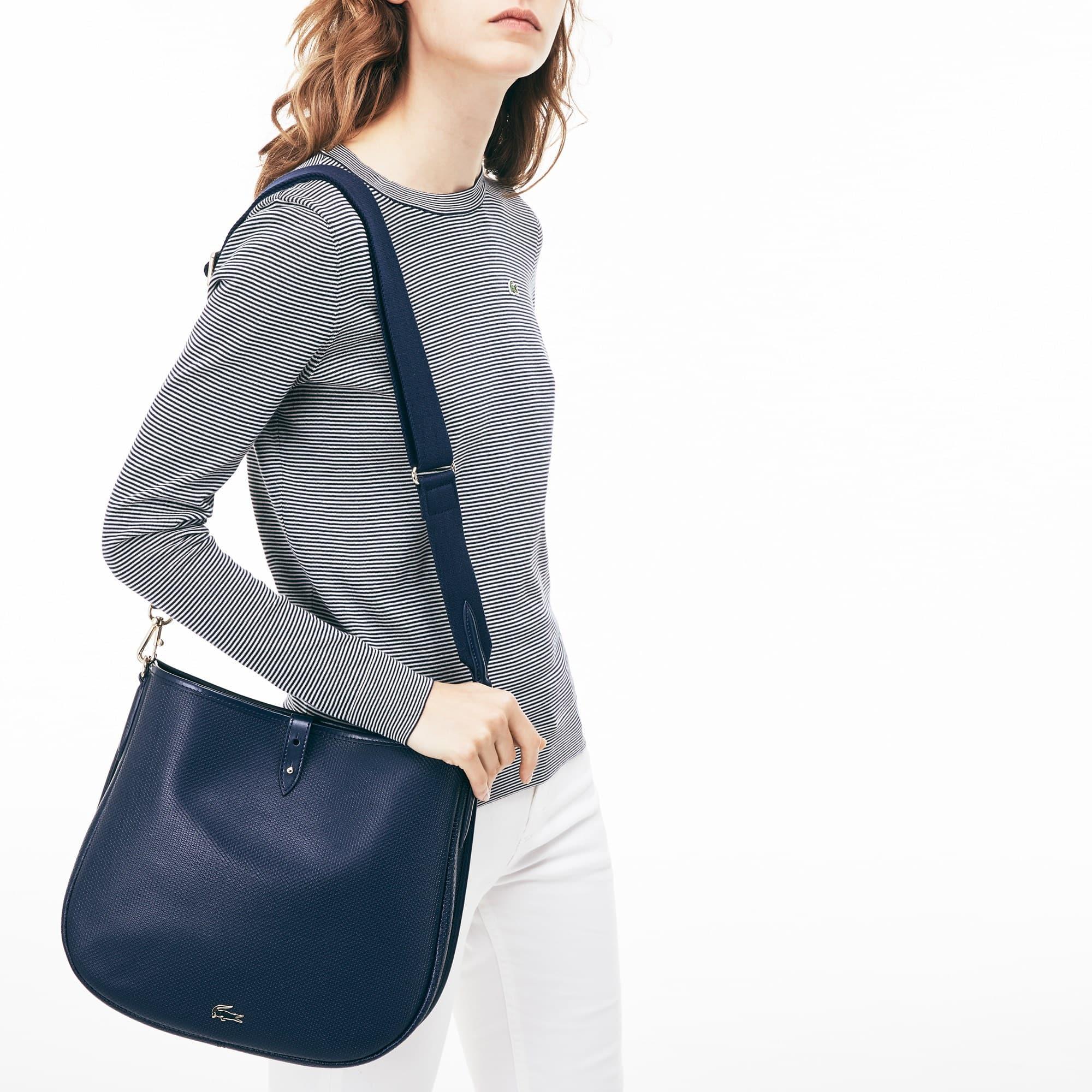 Women's Chantaco Piqué Leather Hobo Bag