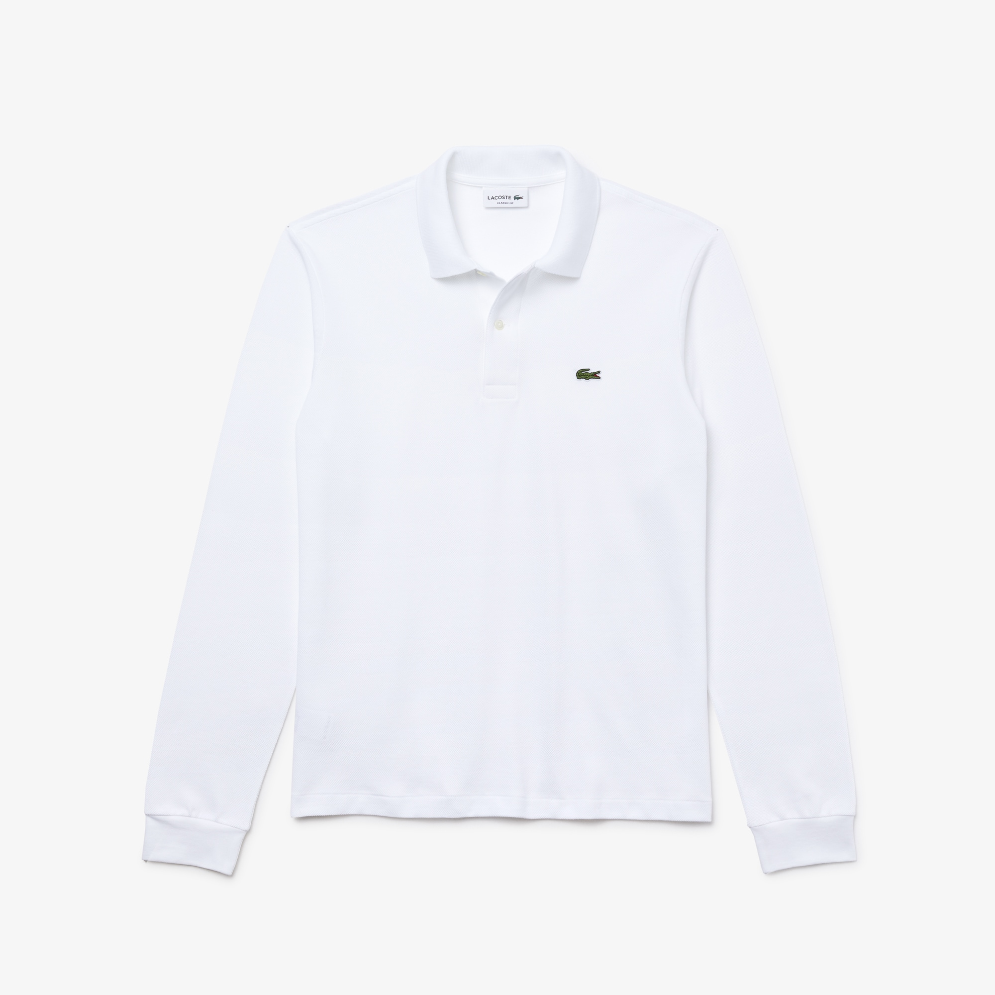 Customized Long sleeves Lacoste Polo