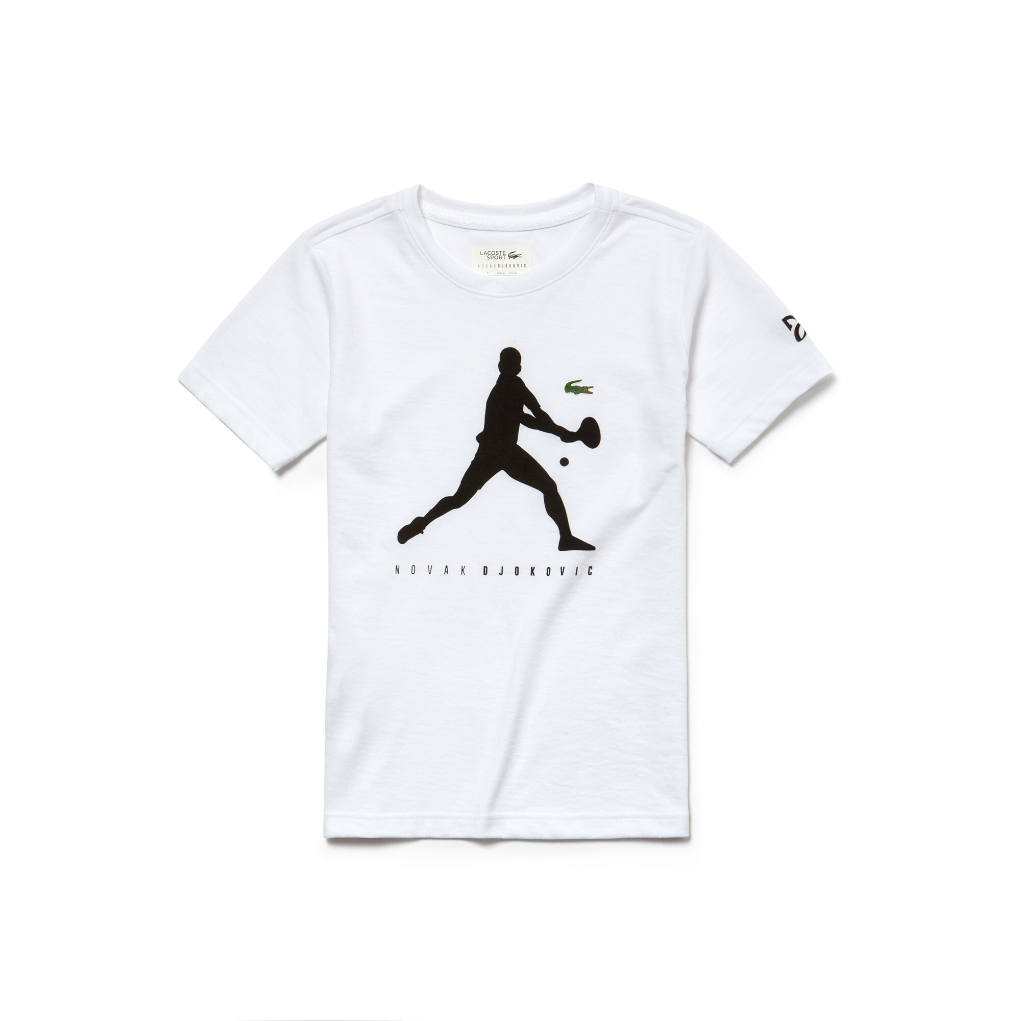 Camiseta Niño Lacoste Sport Novak Djokovic Support With Style Collection