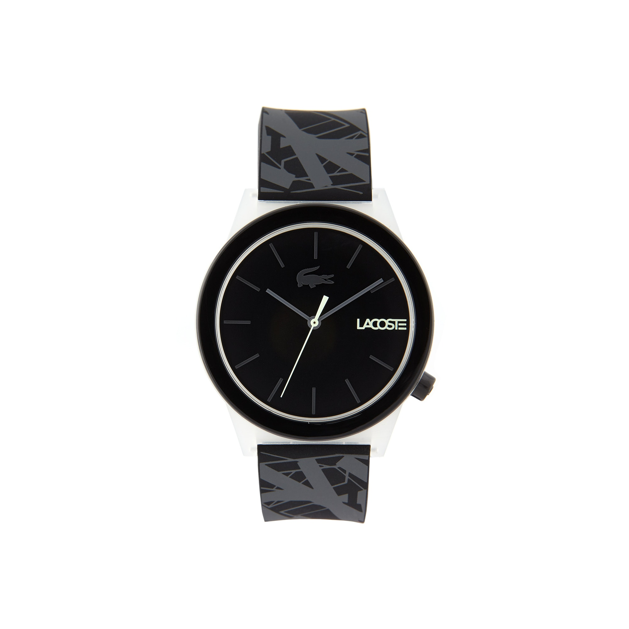 Men's Motion Watch with Black Silicone Strap