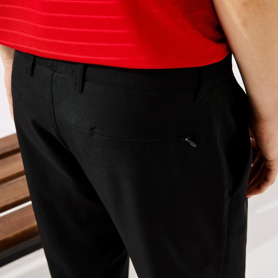 Pantalones De Hombre Lacoste Sport Golf Elasticos Y Transpirables Lacoste
