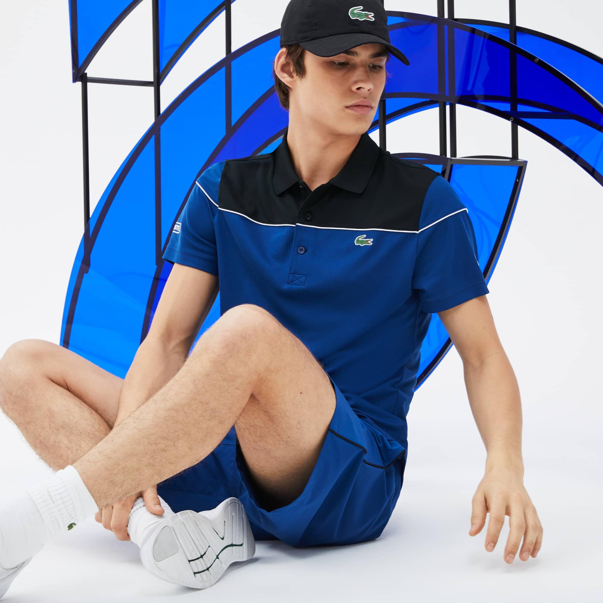 Polo Lacoste Sport Novak Djokovic Collection Color Block