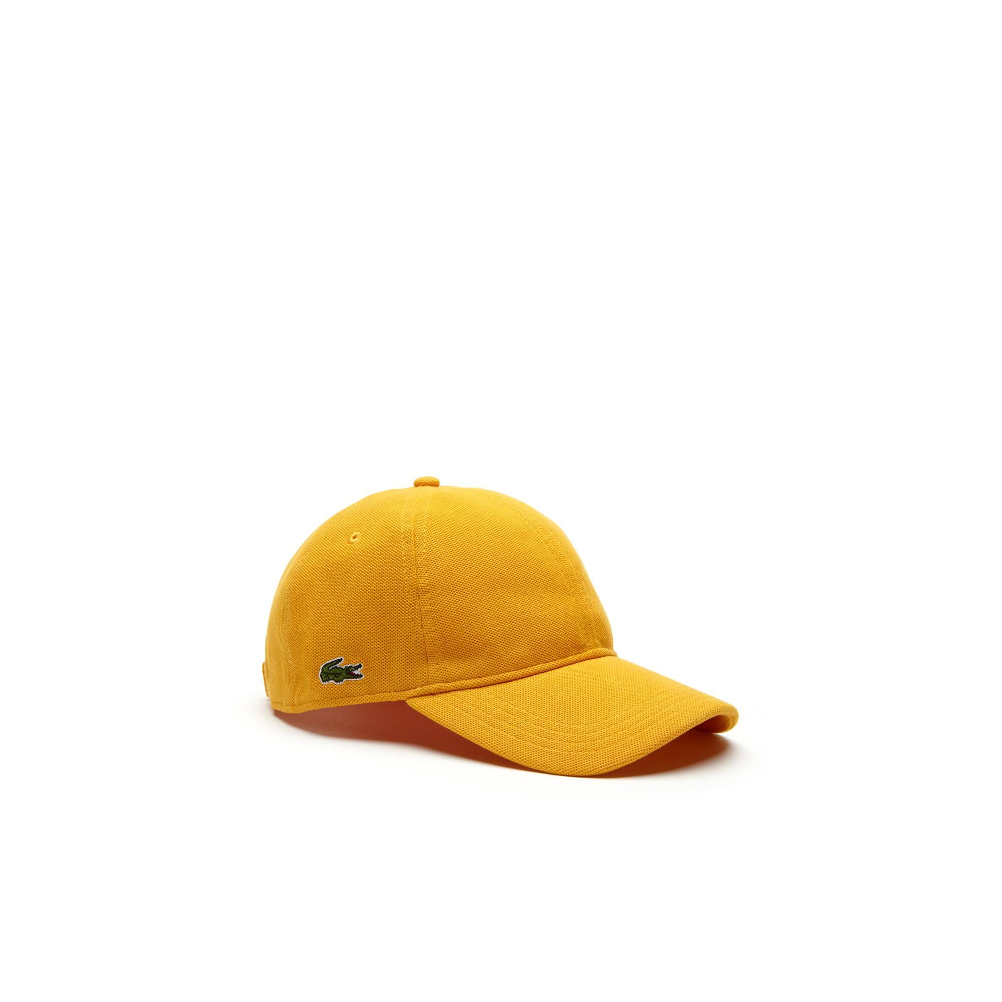 Gorra de piqué de algodón