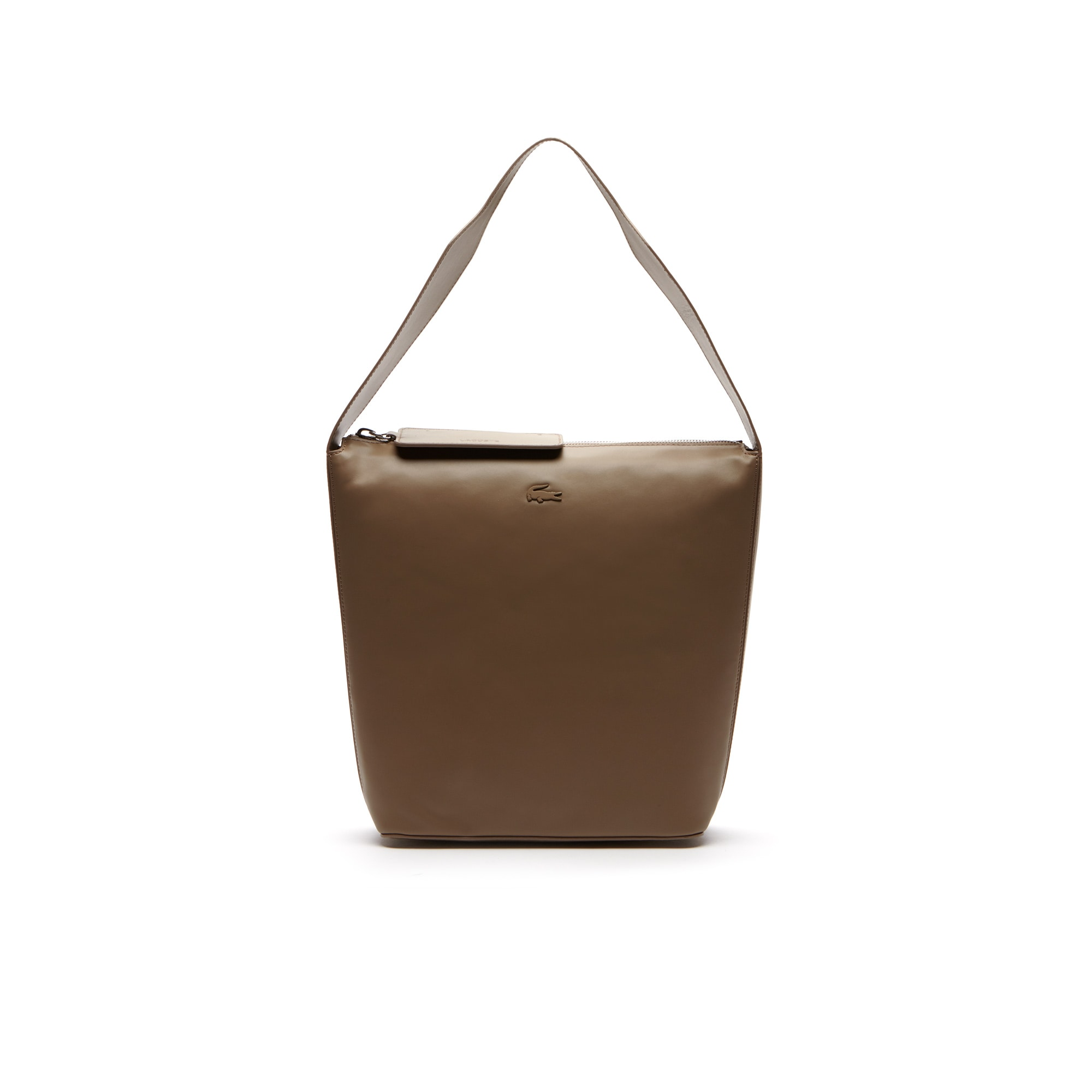 Bolso hobo Purity de cuero flexible monocromo