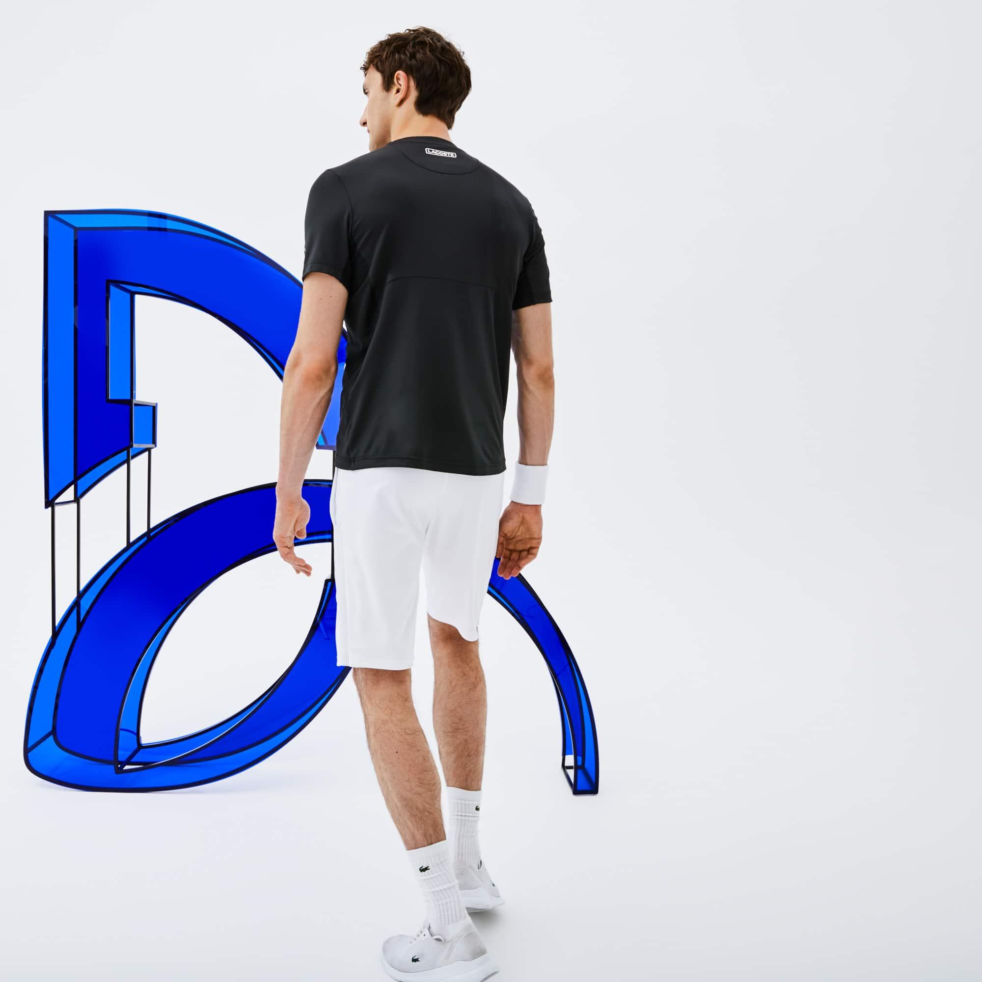 Camiseta De Hombre Lacoste SPORT Novak Djokovic -Off Court ... 975ce48bc6