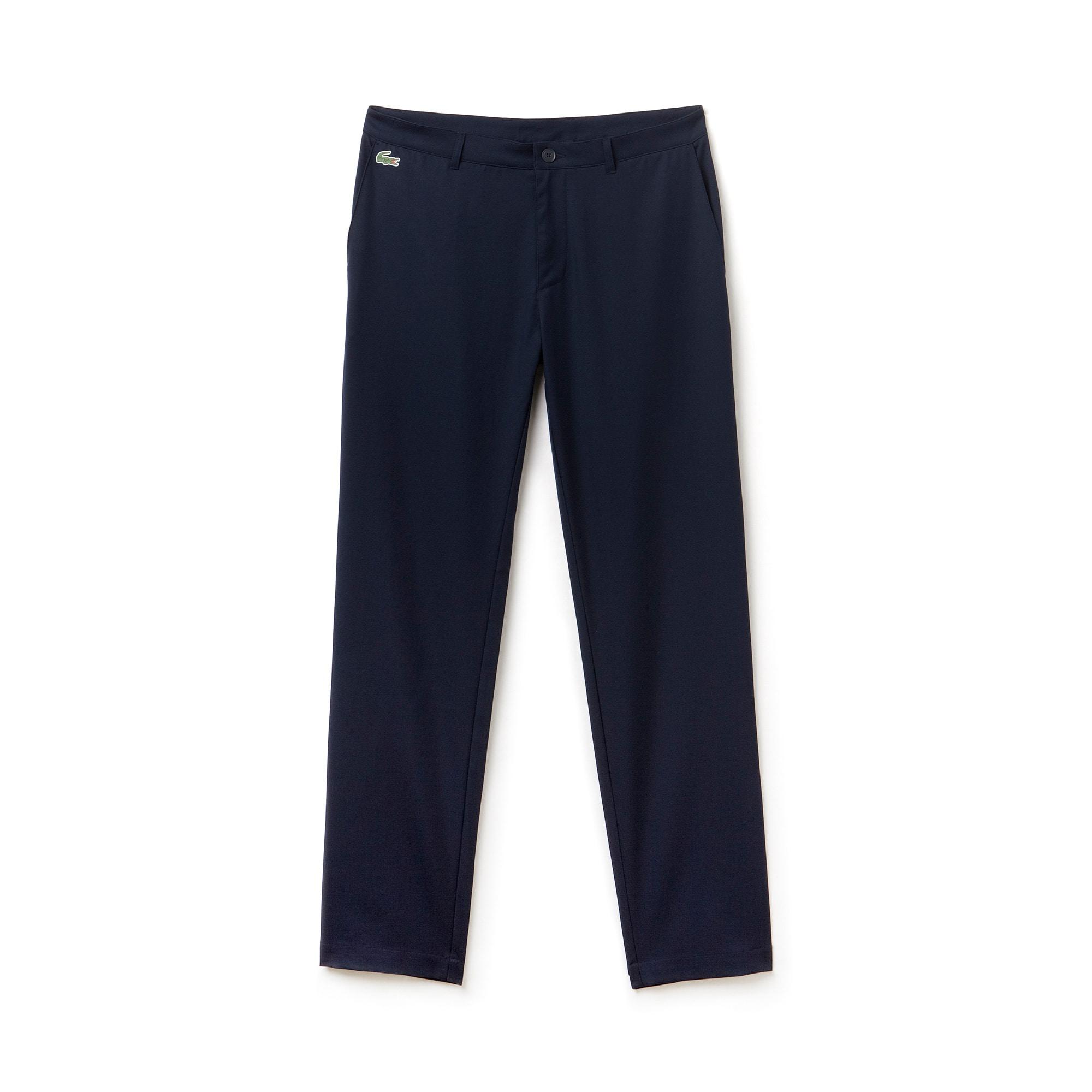 Pantalones chinos Lacoste Golf de gabardina técnica lisa