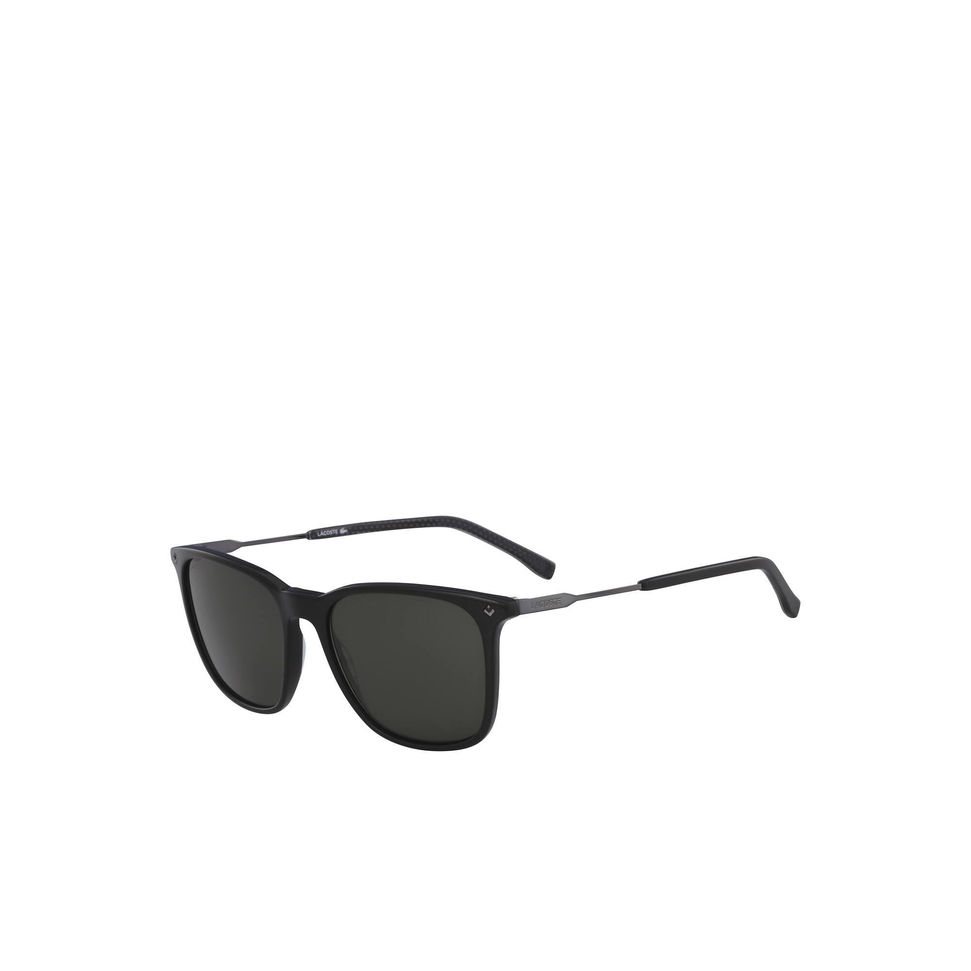 Gafas de sol para hombre de pequeño piqué con montura de acetato y metal