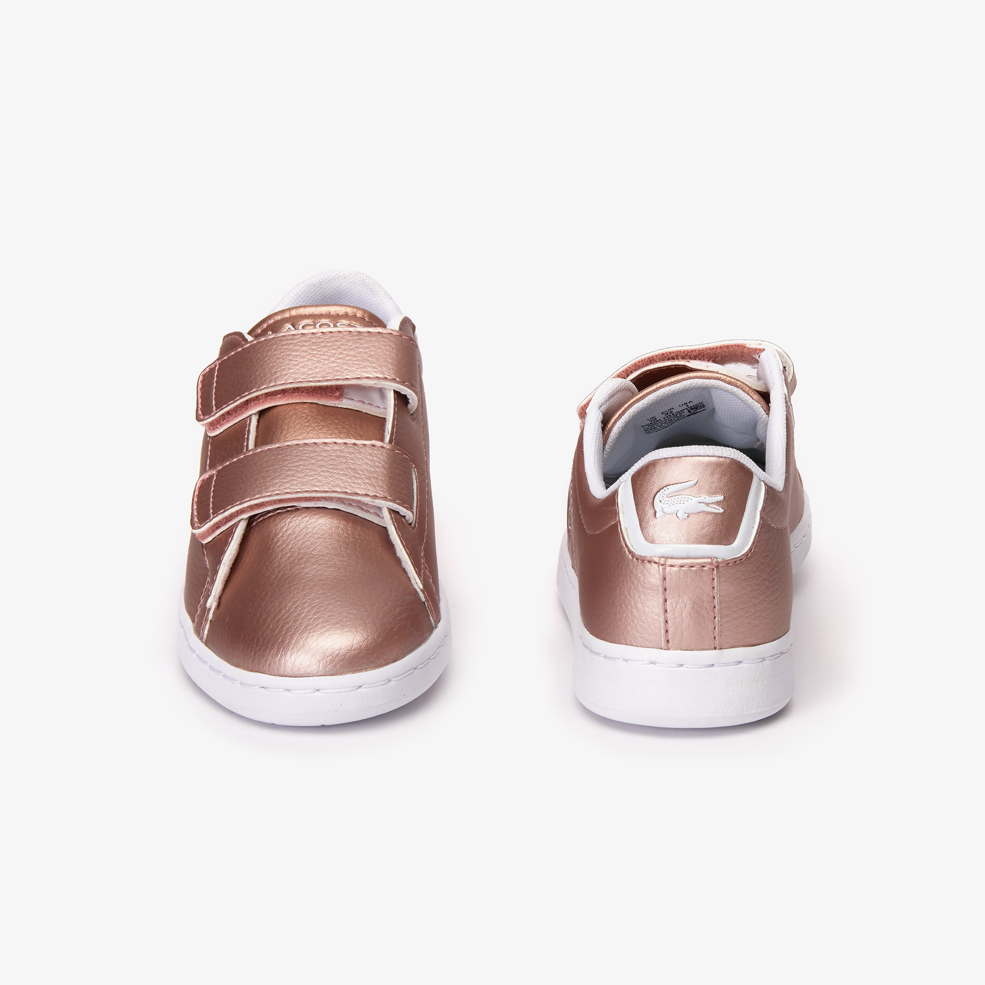 Children's Carnaby Evo Strap Metallic Synthetic Trainers