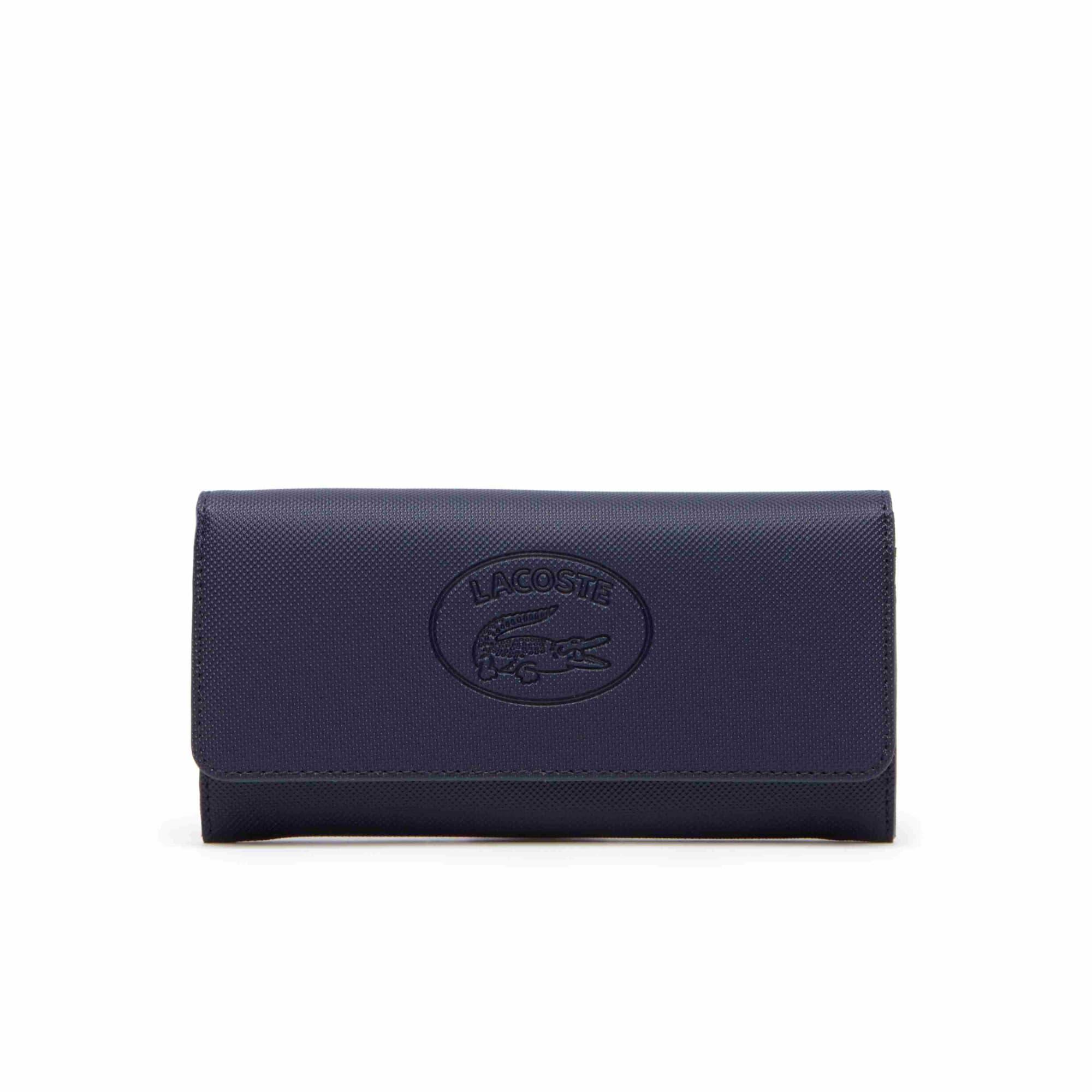 Billetera De Mujer Classic Con Solapa