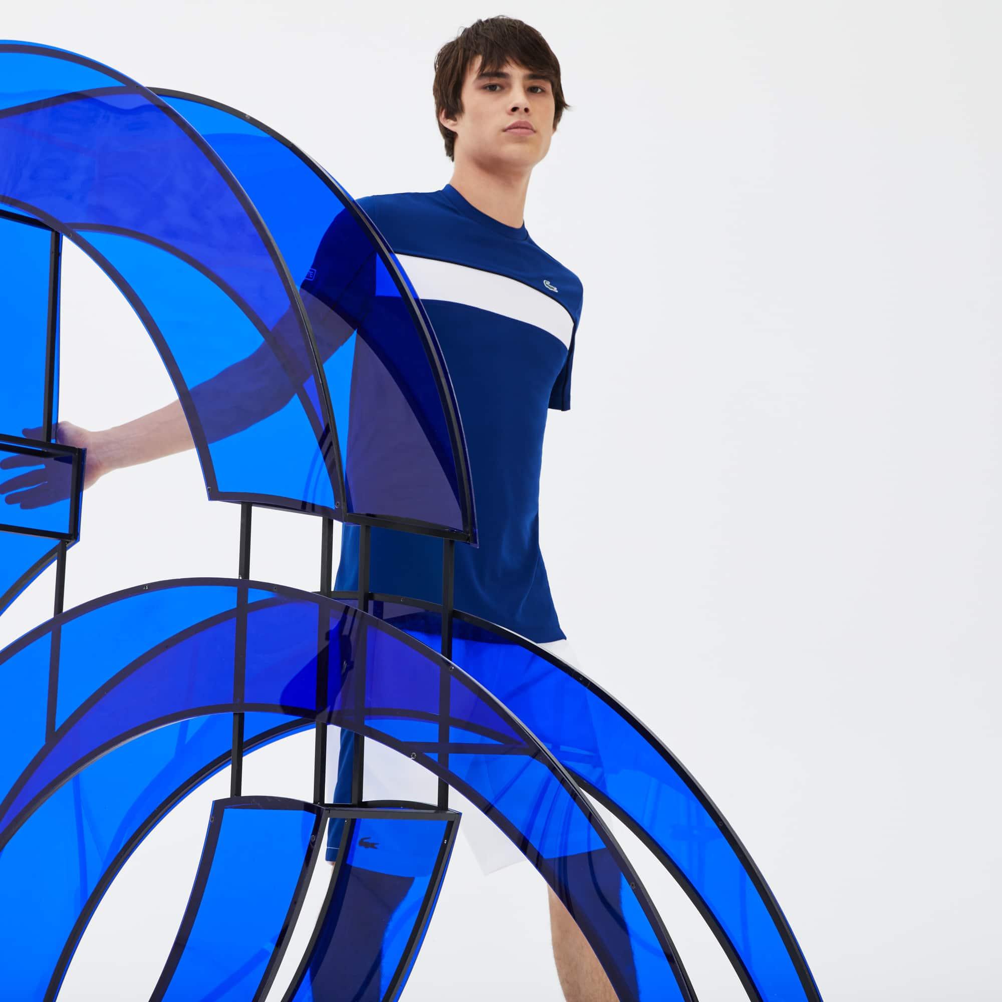 Camiseta Lacoste Sport Novak Djokovic Collection  Color Block