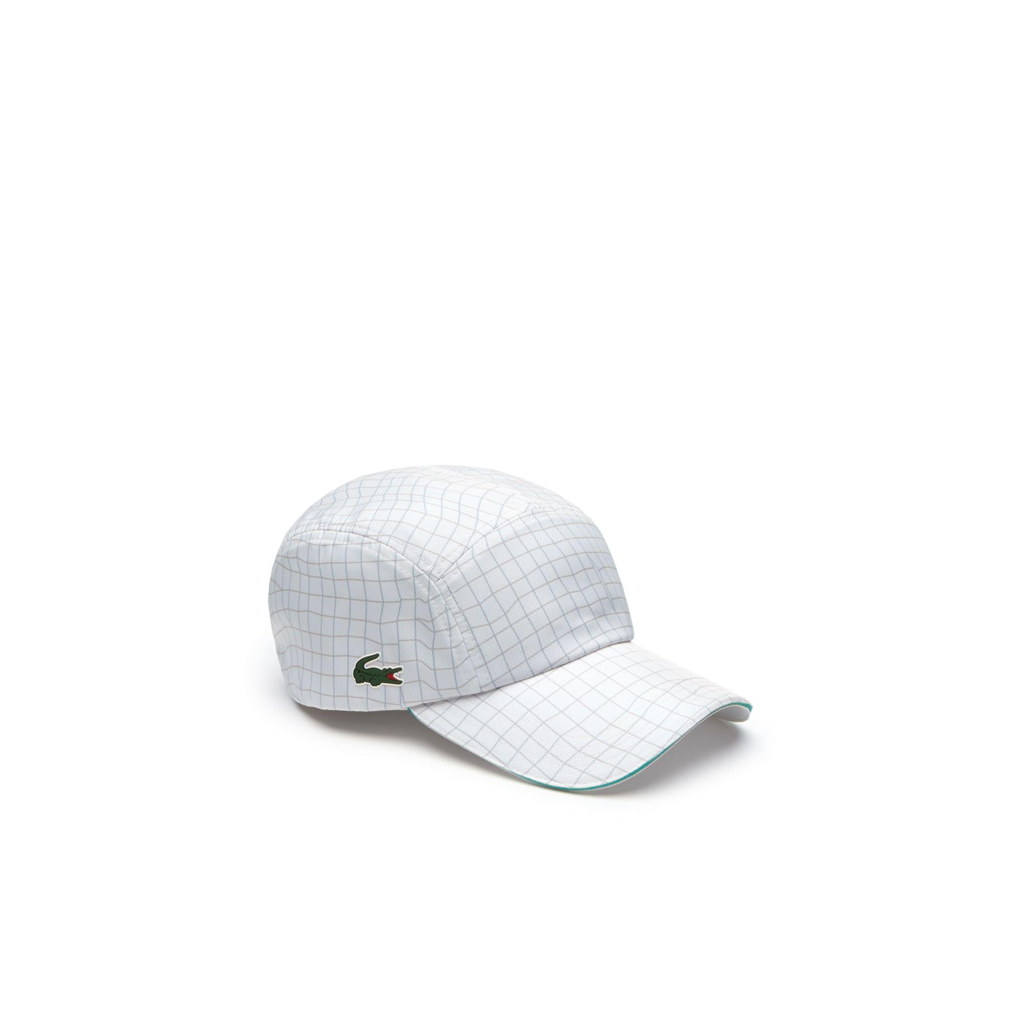 Gorra de hombre Lacoste SPORT Tennis en tafetán con diseño color block