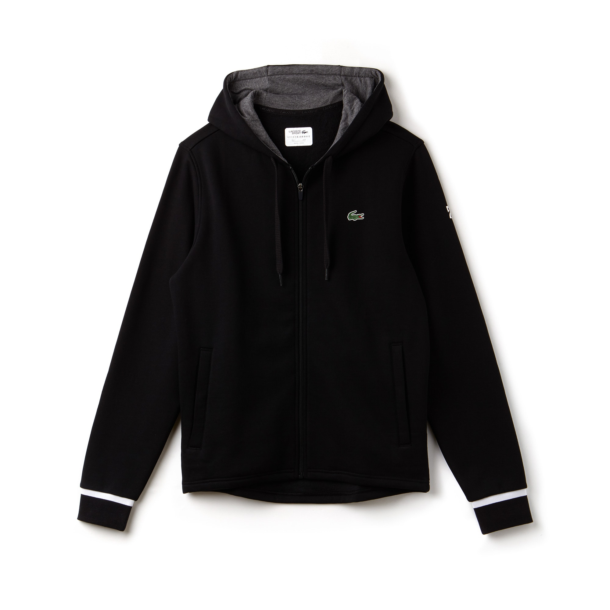 Sudadera Hombre Lacoste Sport Novak Djokovic Support With Style Collection